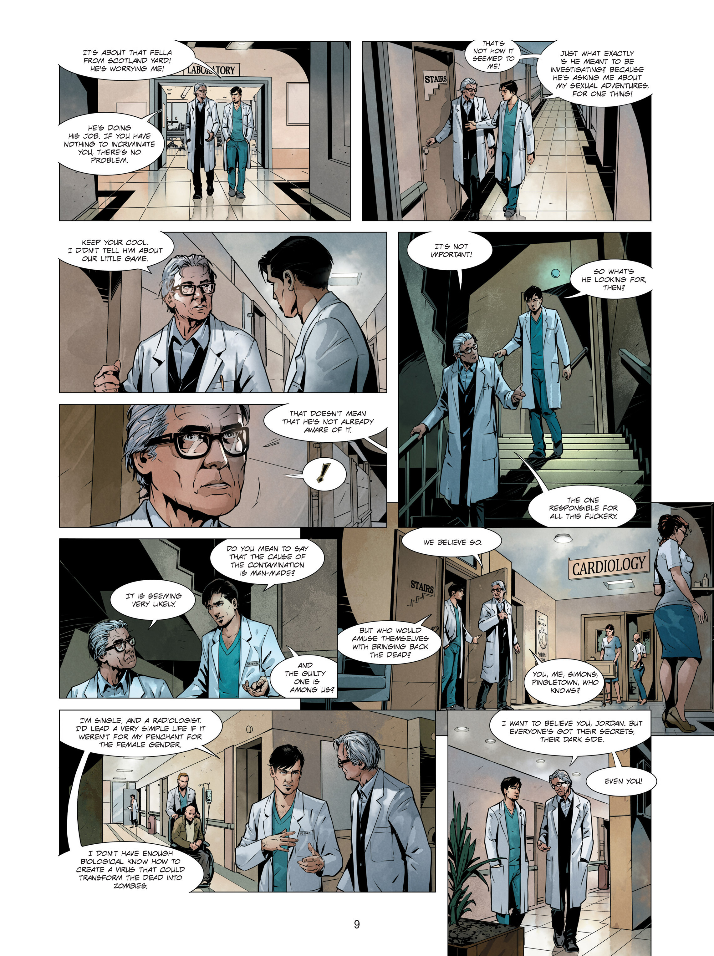 Read online Alice Matheson comic -  Issue #3 - 9