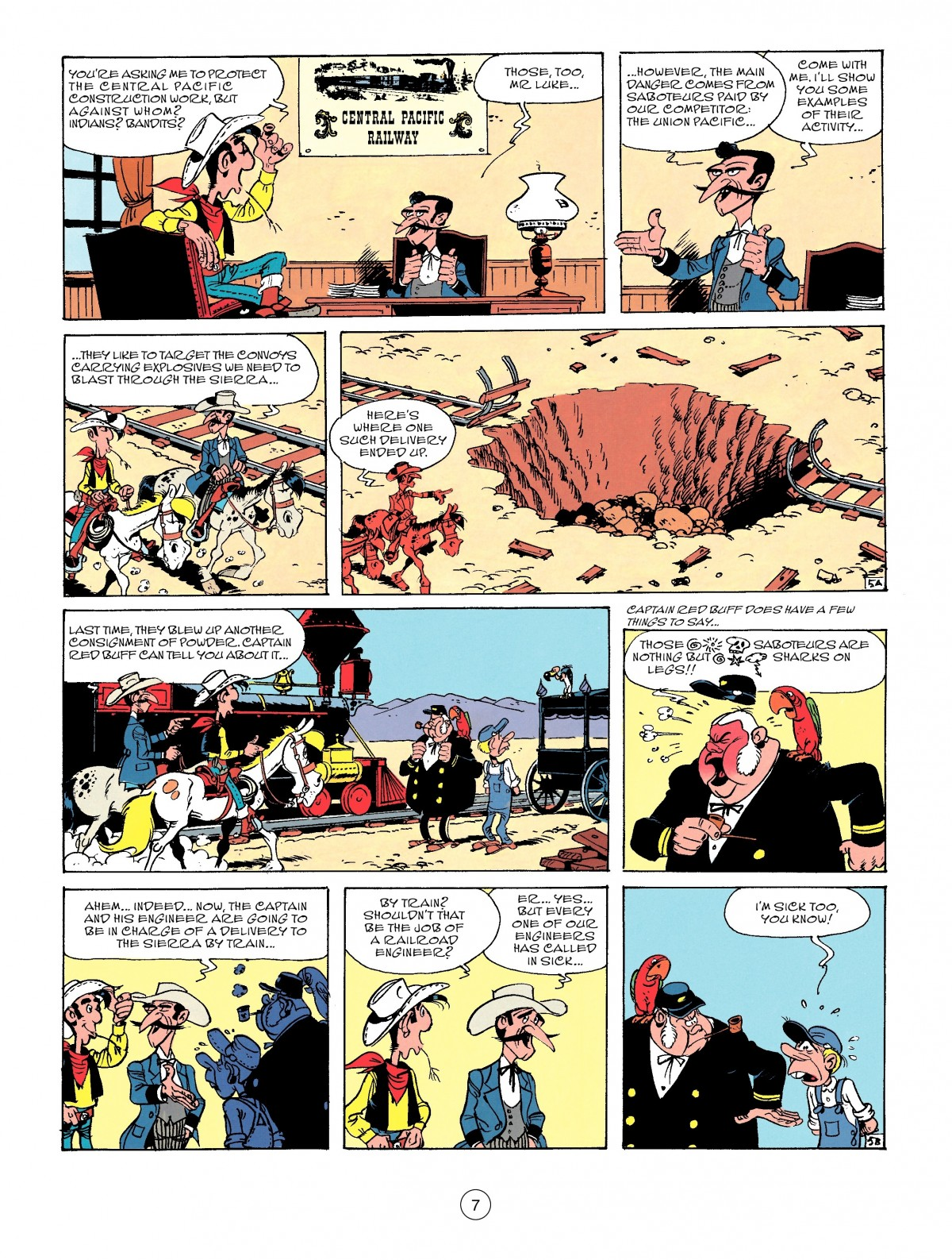 Read online A Lucky Luke Adventure comic -  Issue #53 - 7