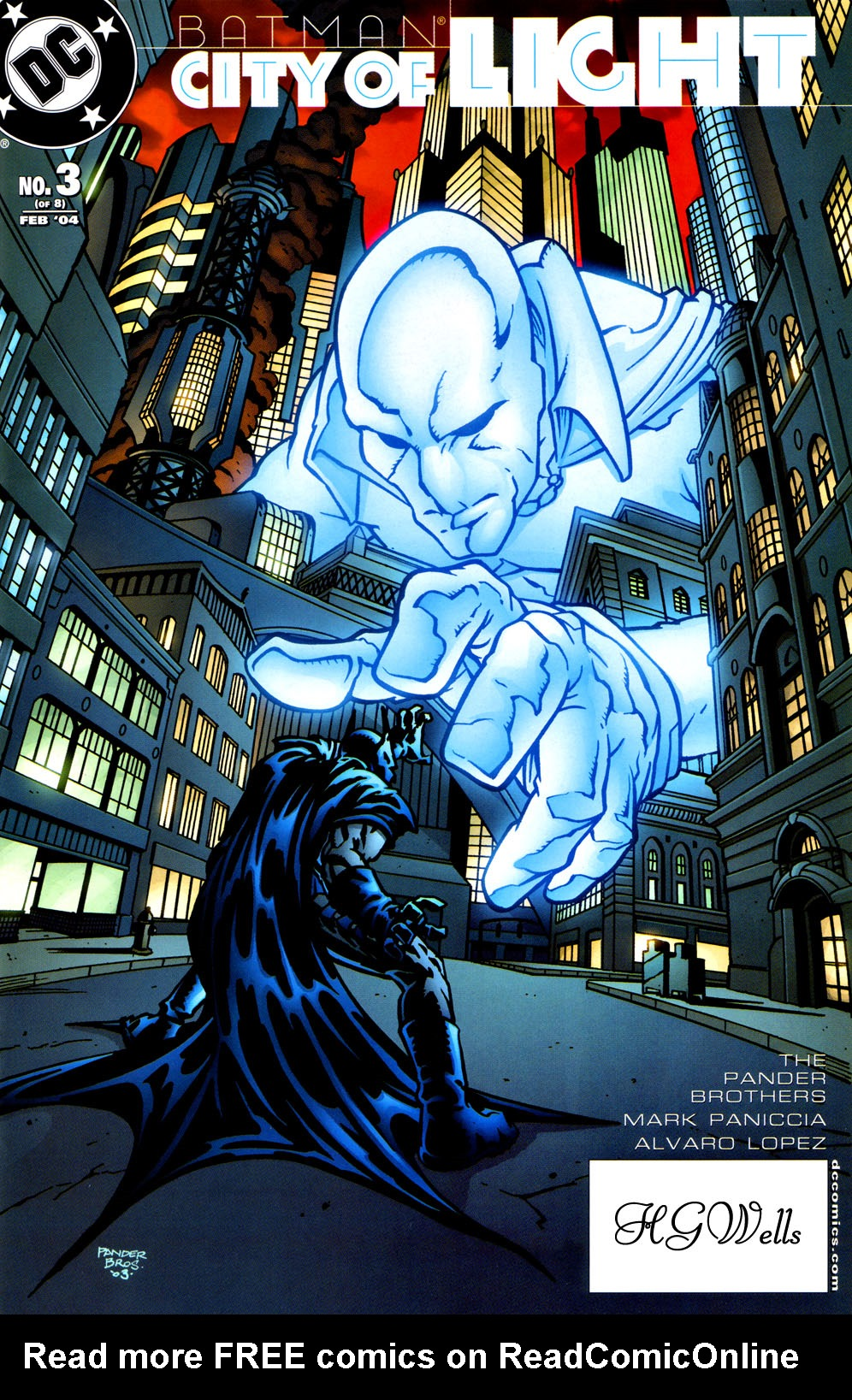 Batman: City of Light 3 Page 1