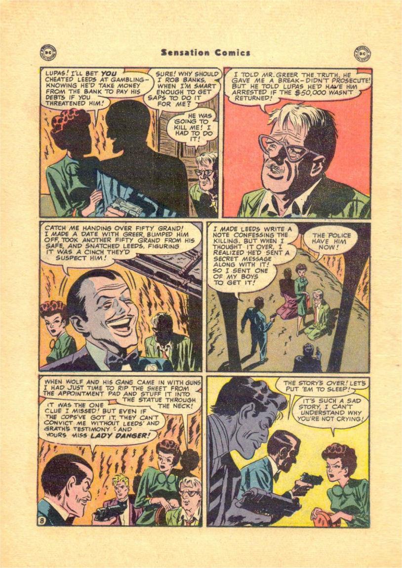 Read online Sensation (Mystery) Comics comic -  Issue #84 - 26