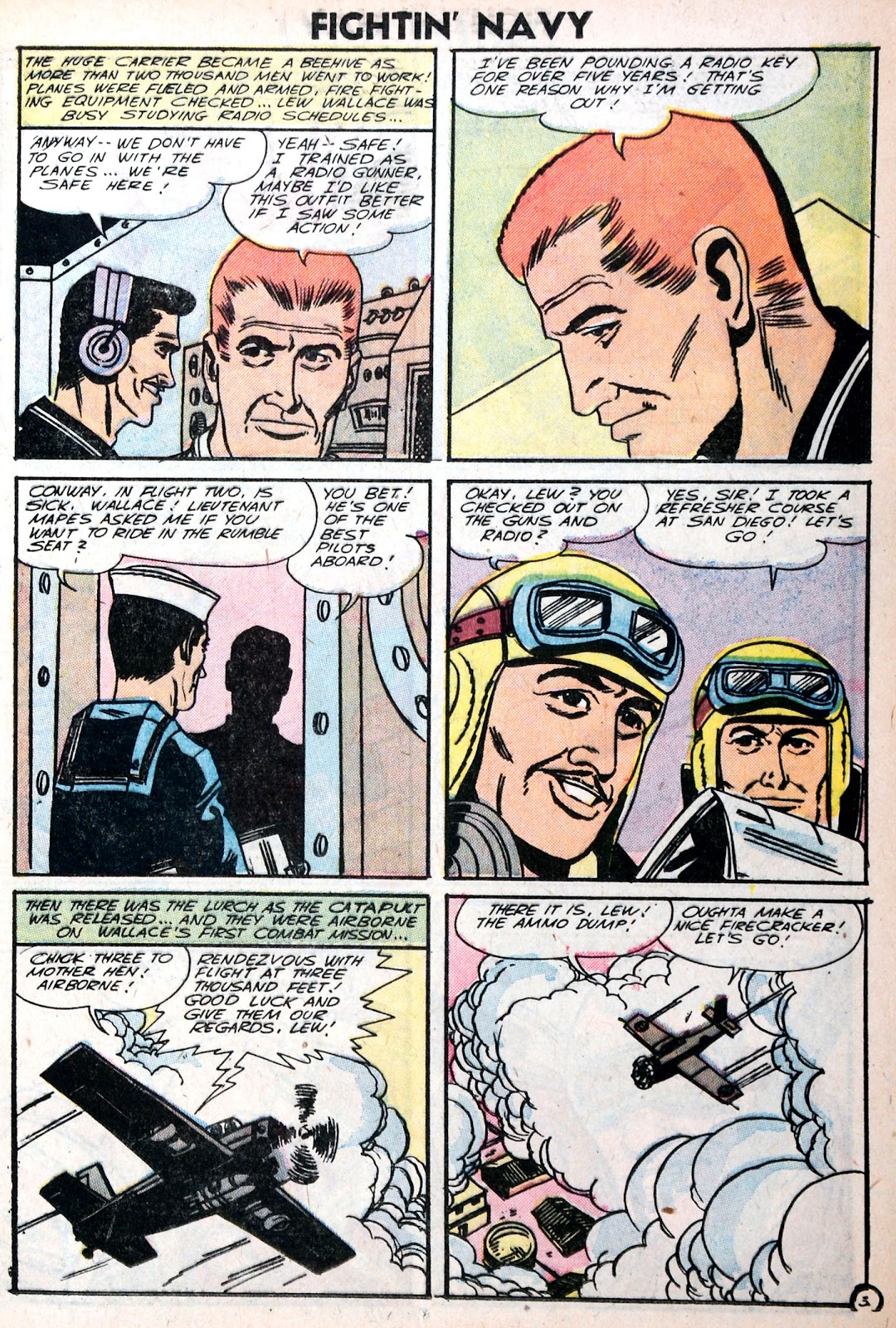 Read online Fightin' Navy comic -  Issue #75 - 13