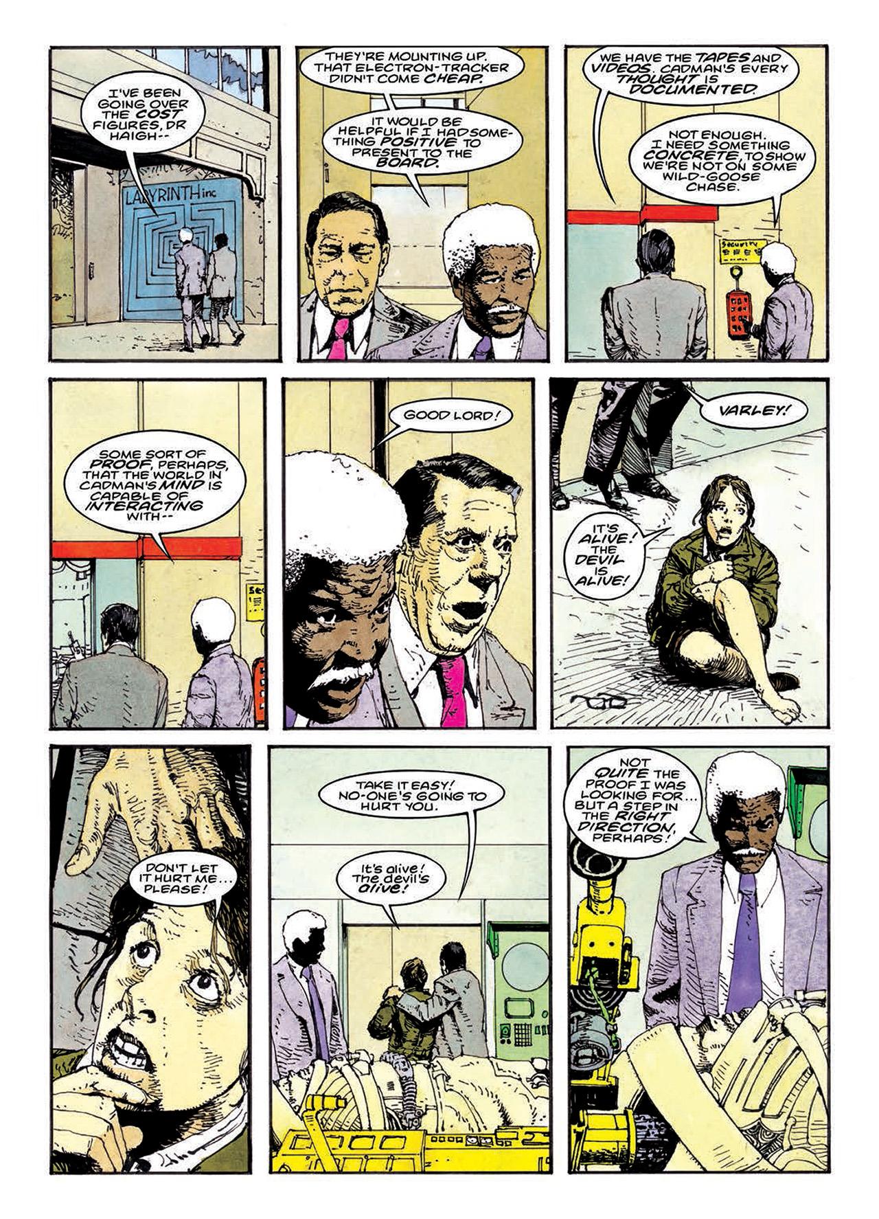 Read online Mazeworld comic -  Issue # TPB - 159
