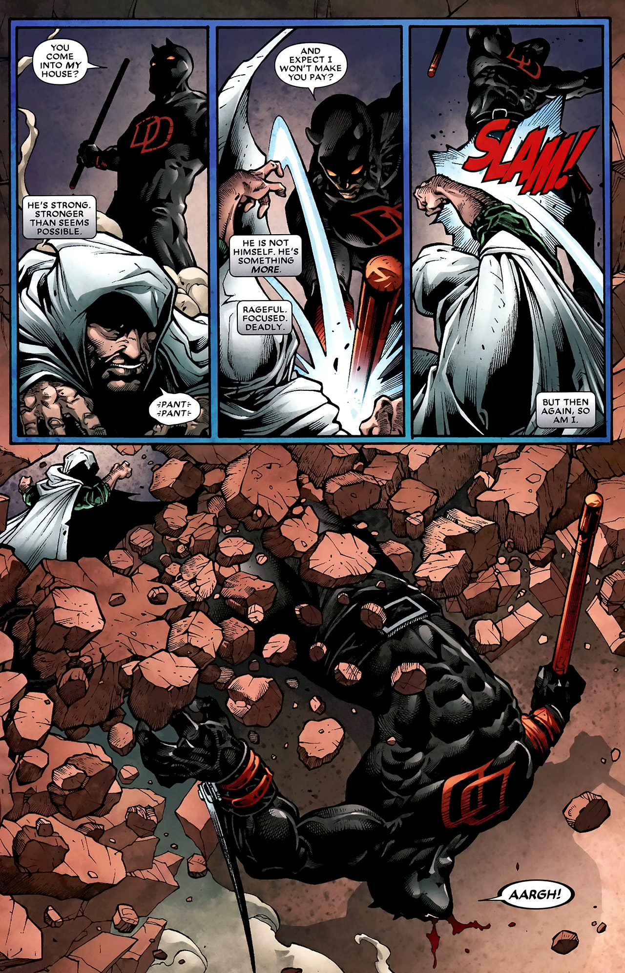 Read online Shadowland: Moon Knight comic -  Issue #2 - 7