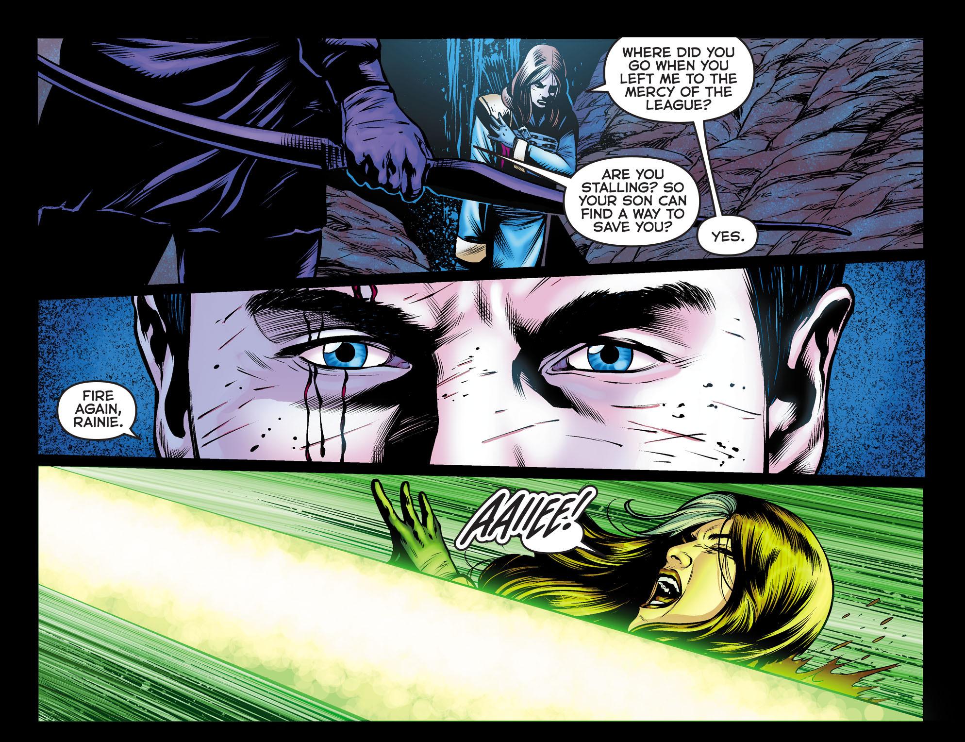 Read online Arrow: The Dark Archer comic -  Issue #10 - 12