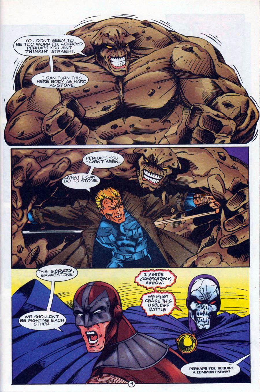 Read online Ex-Mutants comic -  Issue #18 - 10