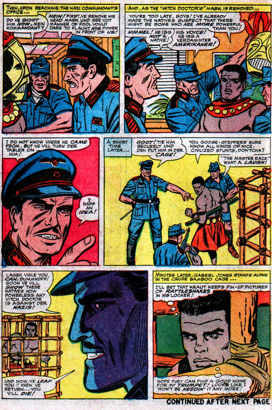 Read online Sgt. Fury comic -  Issue #17 - 18
