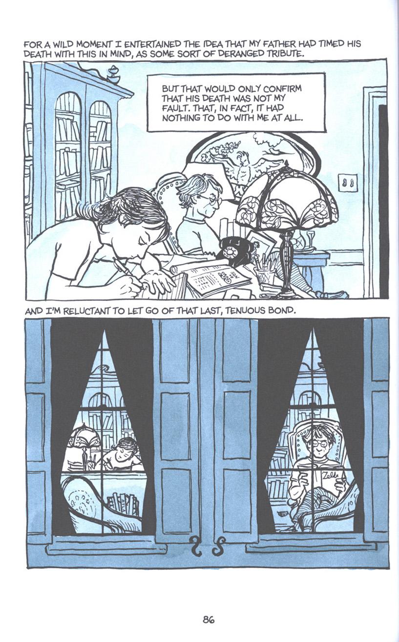 Read online Fun Home: A Family Tragicomic comic -  Issue # TPB - 93