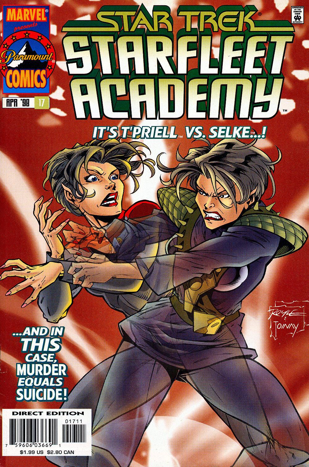 Star Trek: Starfleet Academy (1996) issue 17 - Page 1