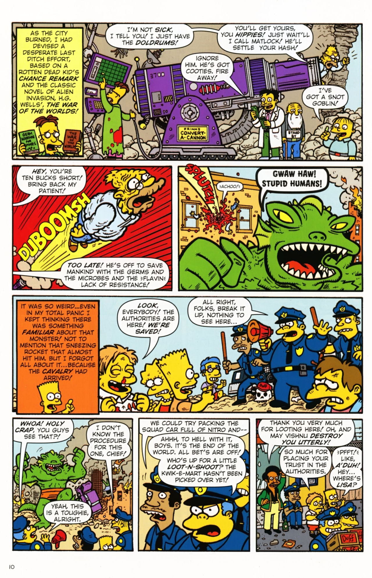 Read online Treehouse of Horror comic -  Issue #16 - 13