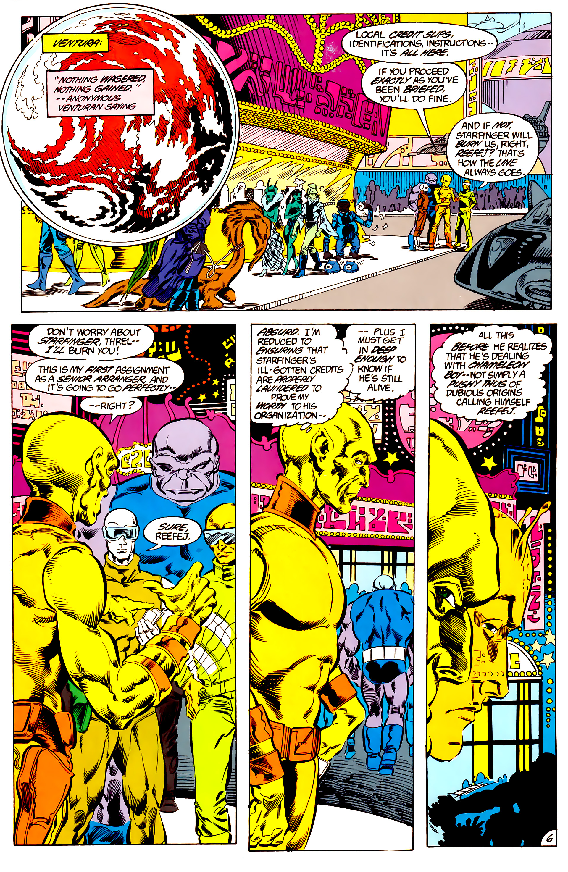 Legion of Super-Heroes (1984) 47 Page 6