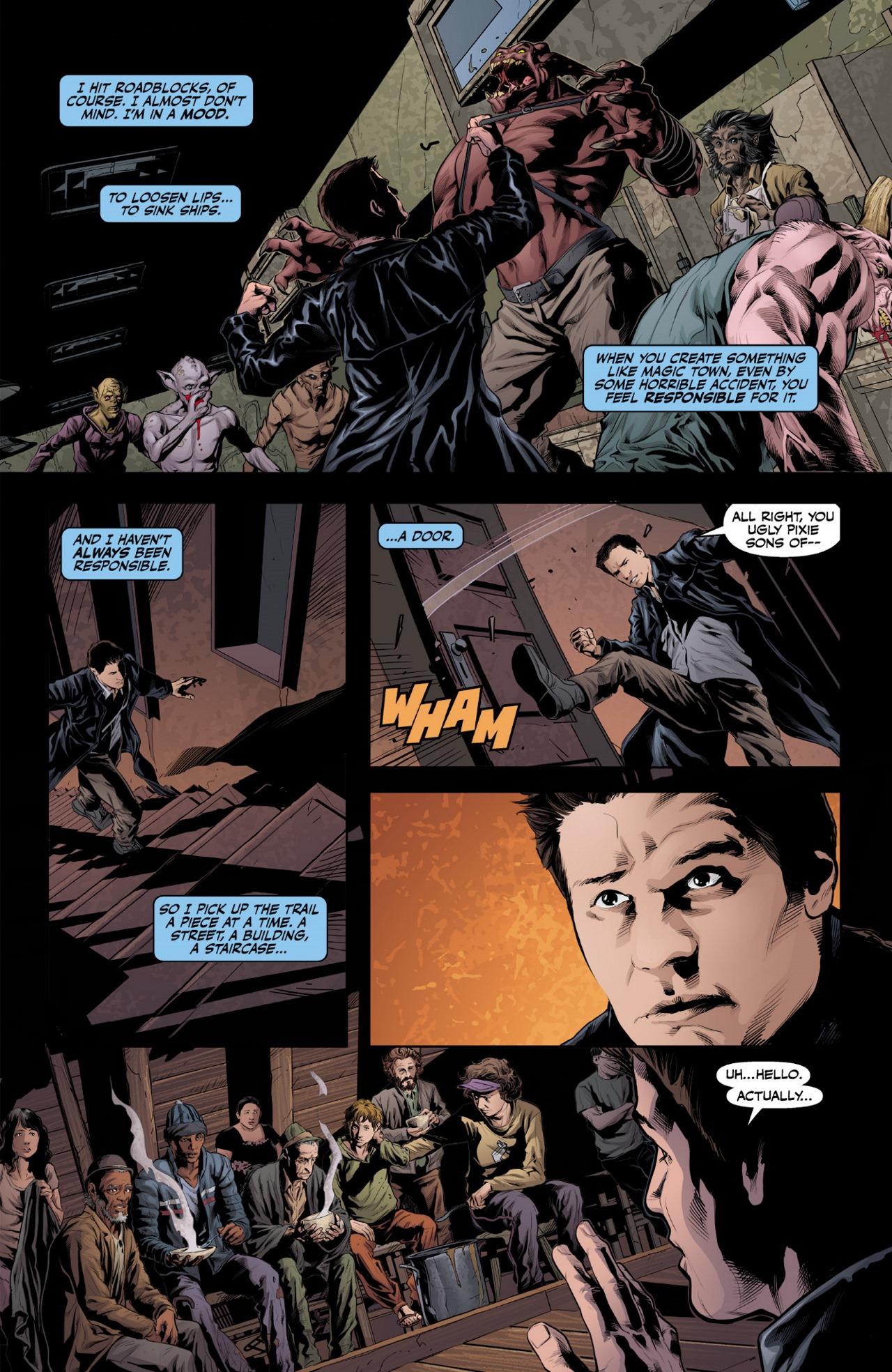 Read online Angel & Faith Season 10 comic -  Issue #1 - 21