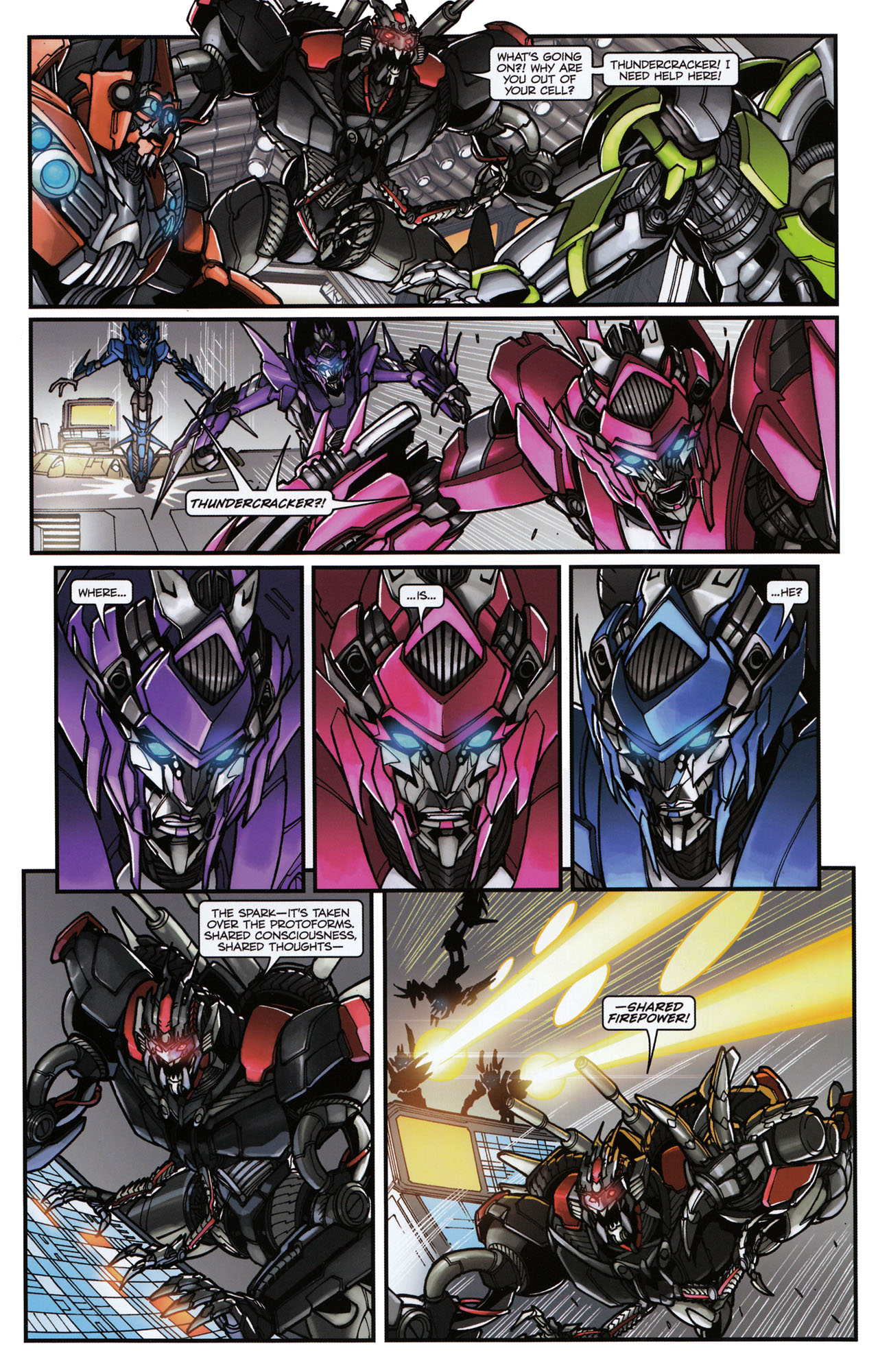 Read online Transformers: Tales of The Fallen comic -  Issue #6 - 13
