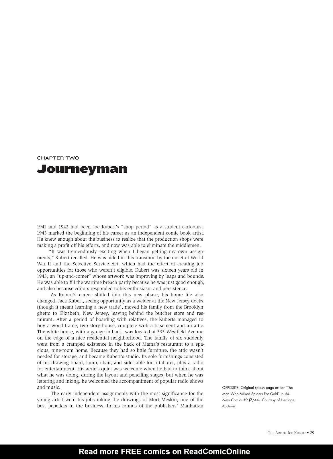 Read online The Art of Joe Kubert comic -  Issue # TPB (Part 1) - 28