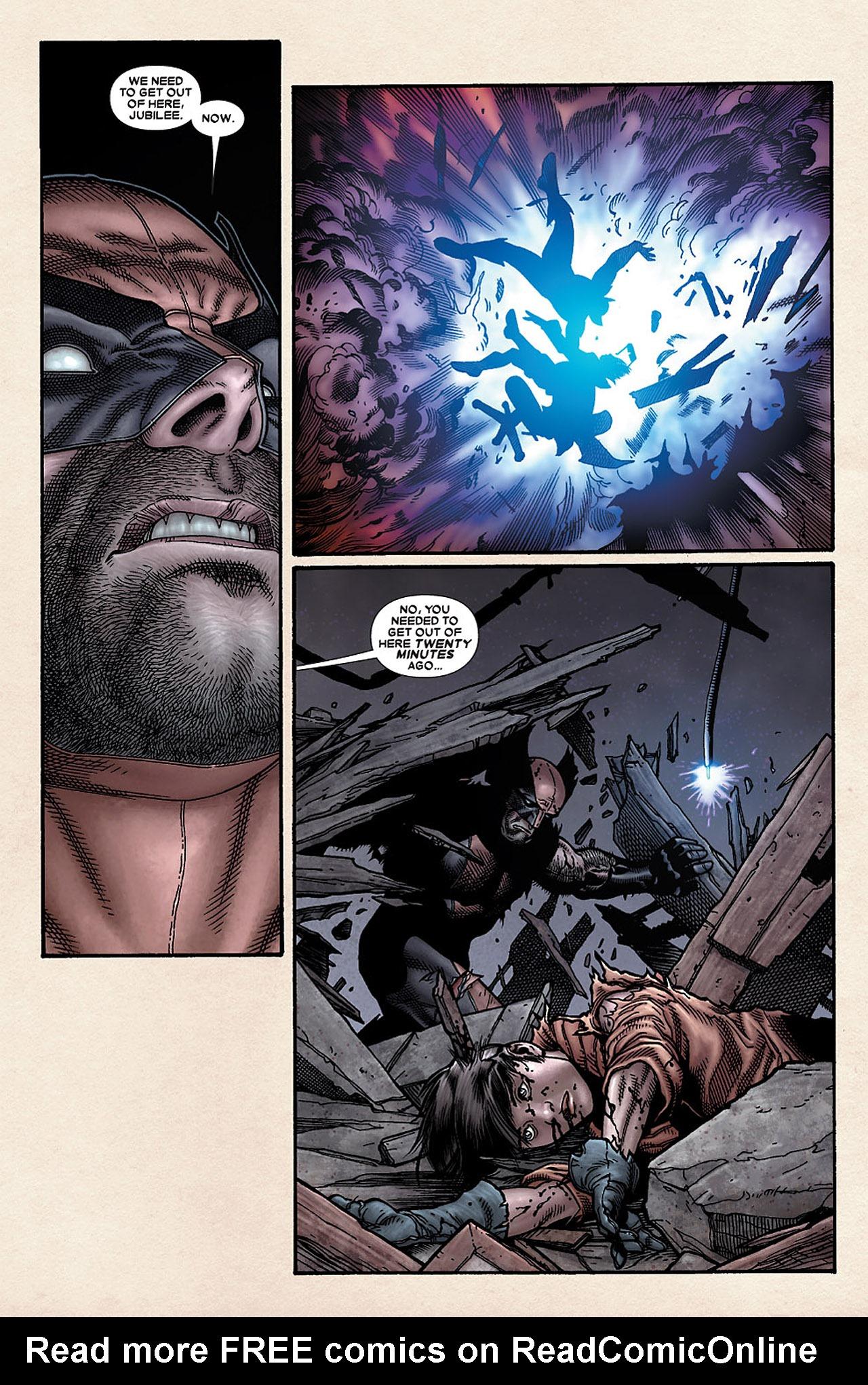 Read online Wolverine: Old Man Logan comic -  Issue # Full - 95