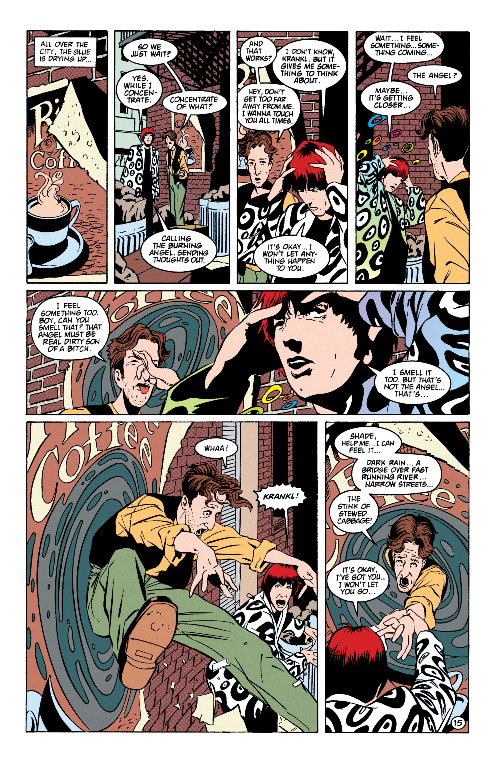 Read online Shade, the Changing Man comic -  Issue #59 - 16