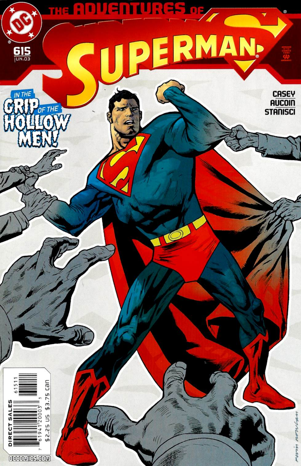 Read online Adventures of Superman (1987) comic -  Issue #615 - 1