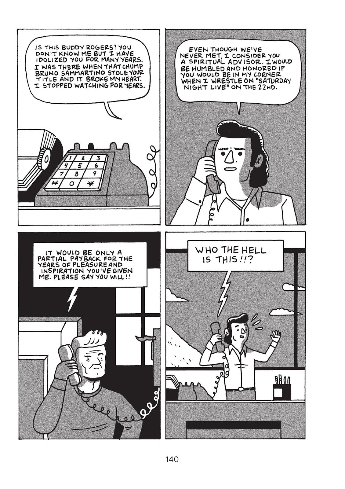 Read online Is This Guy For Real?: The Unbelievable Andy Kaufman comic -  Issue # TPB (Part 2) - 45