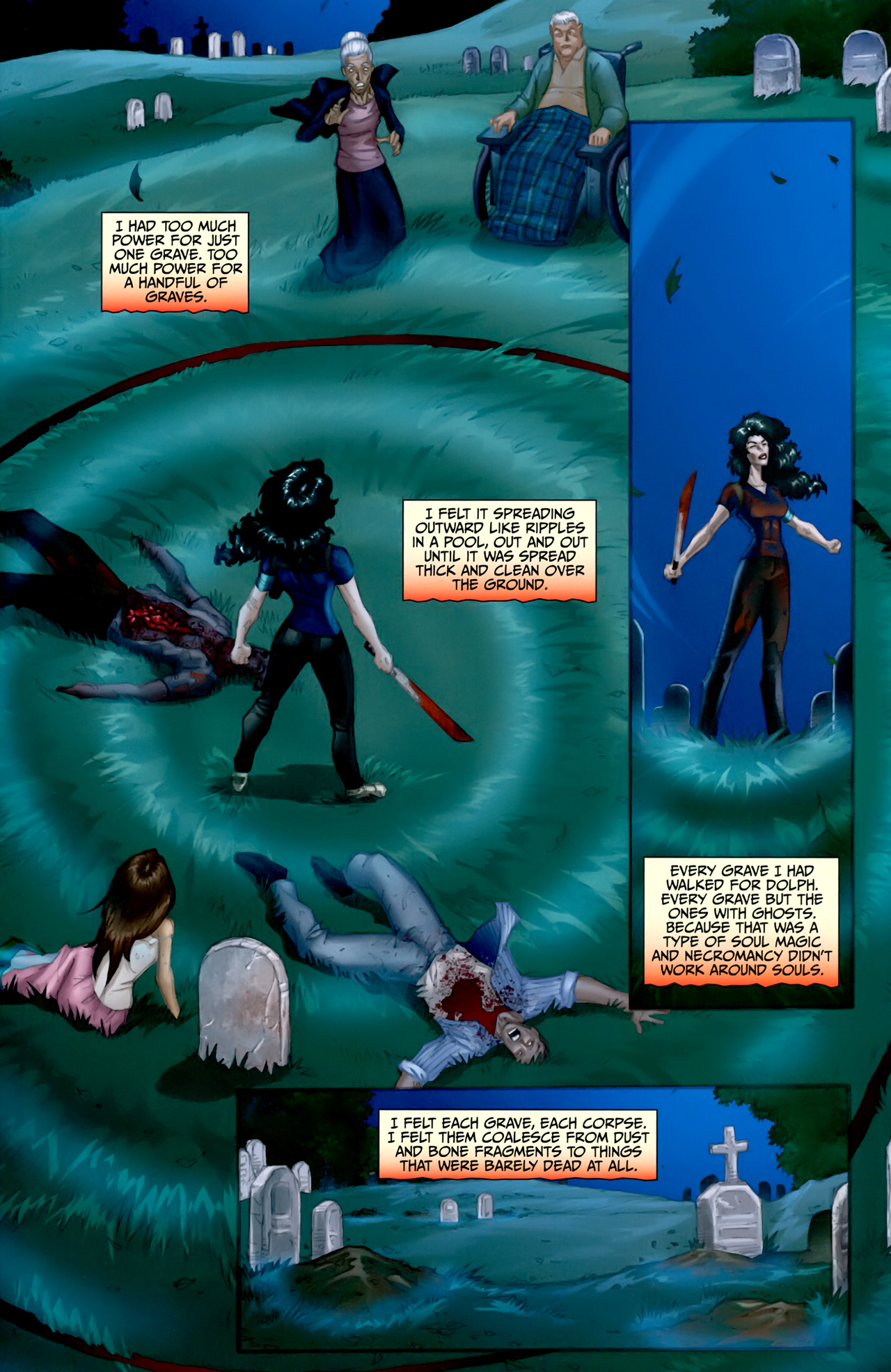 Read online Anita Blake: The Laughing Corpse - Executioner comic -  Issue #5 - 5