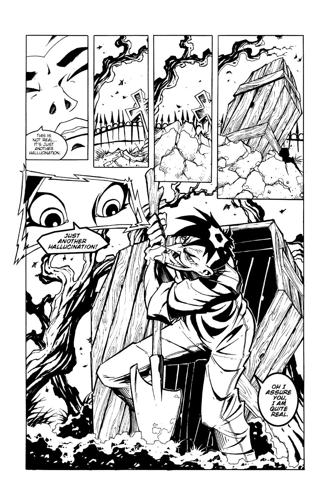 Warrior Nun Areala:  Dangerous Game Issue #2 #2 - English 13