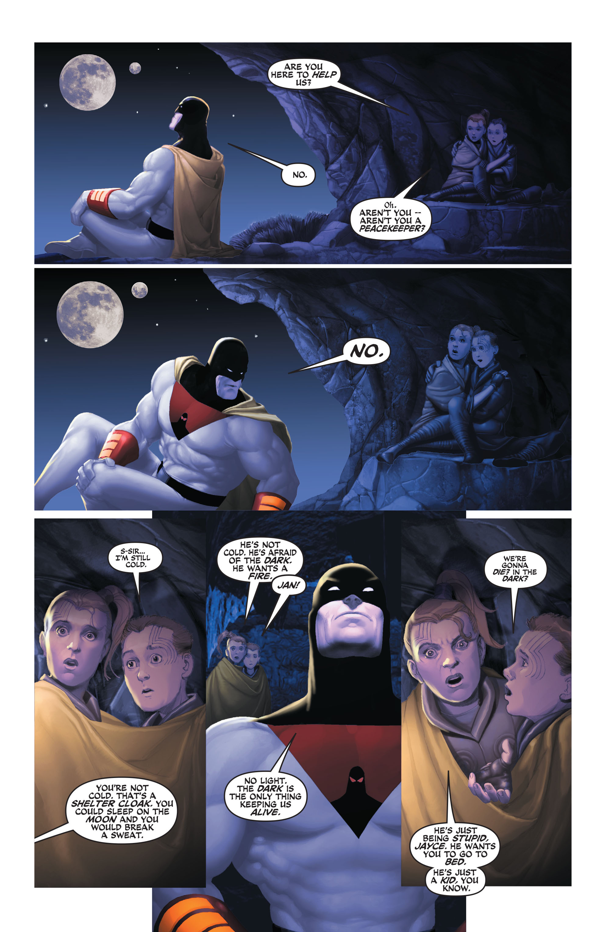 Read online Space Ghost (2016) comic -  Issue # Full - 82