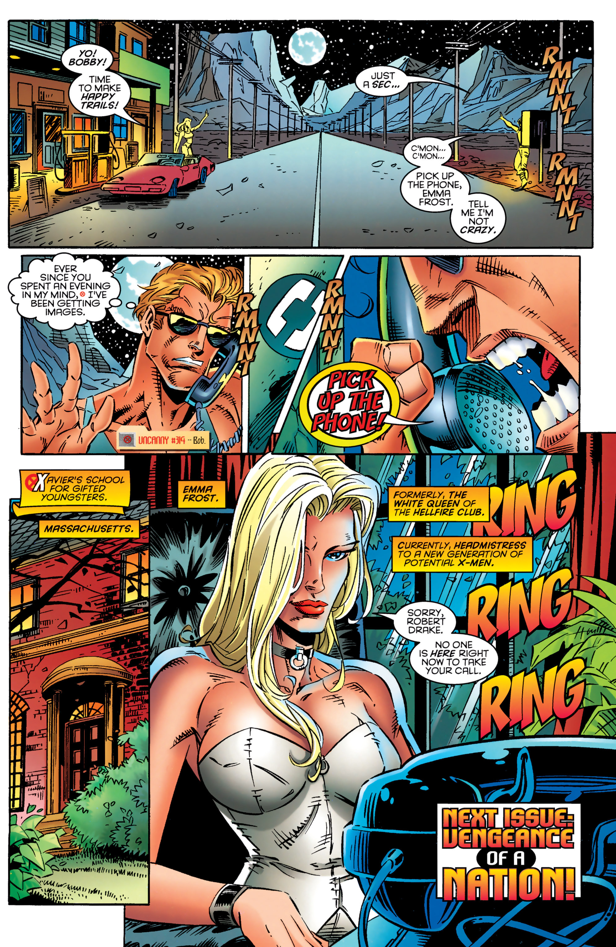 Read online Uncanny X-Men (1963) comic -  Issue #324 - 23