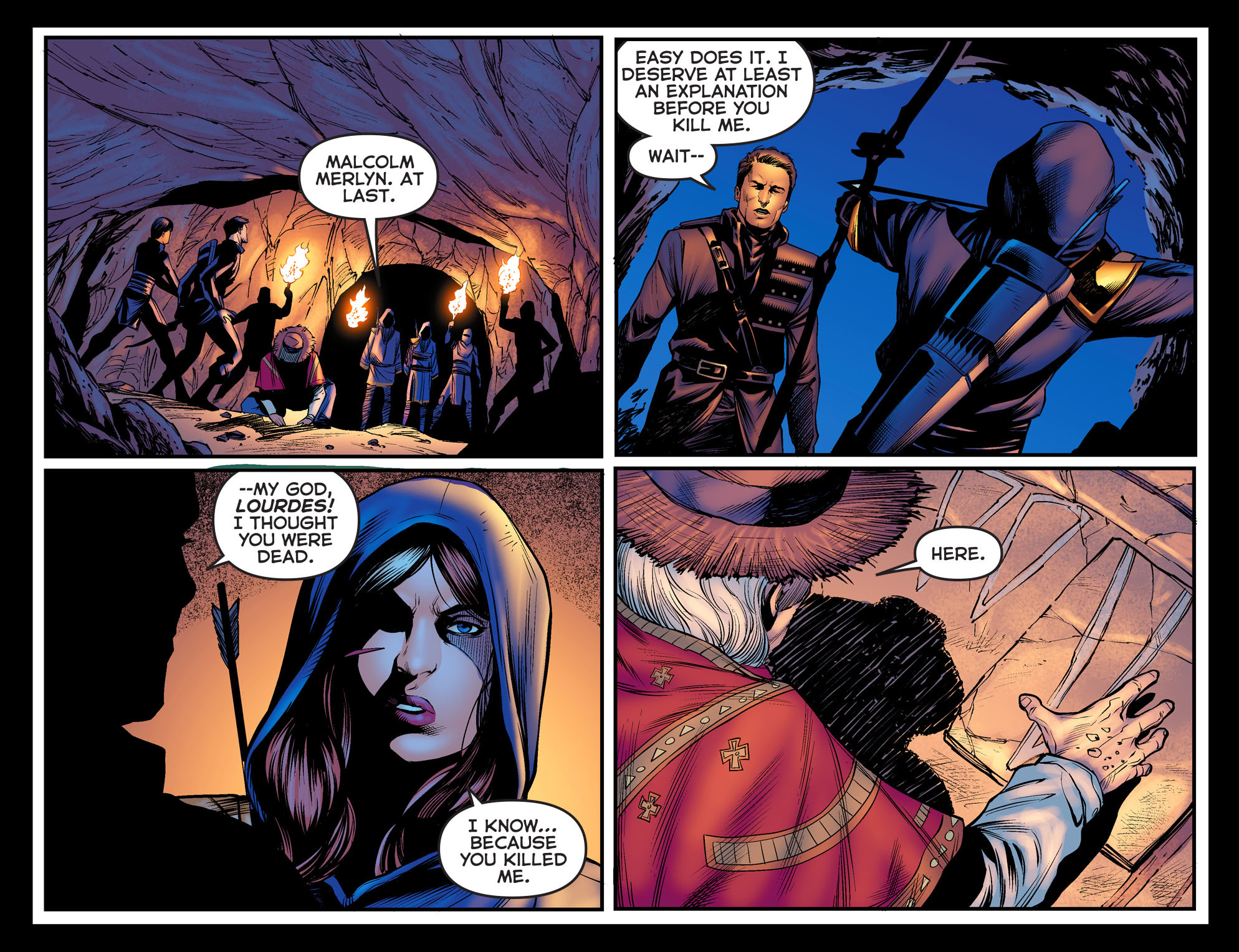 Read online Arrow: The Dark Archer comic -  Issue #3 - 21