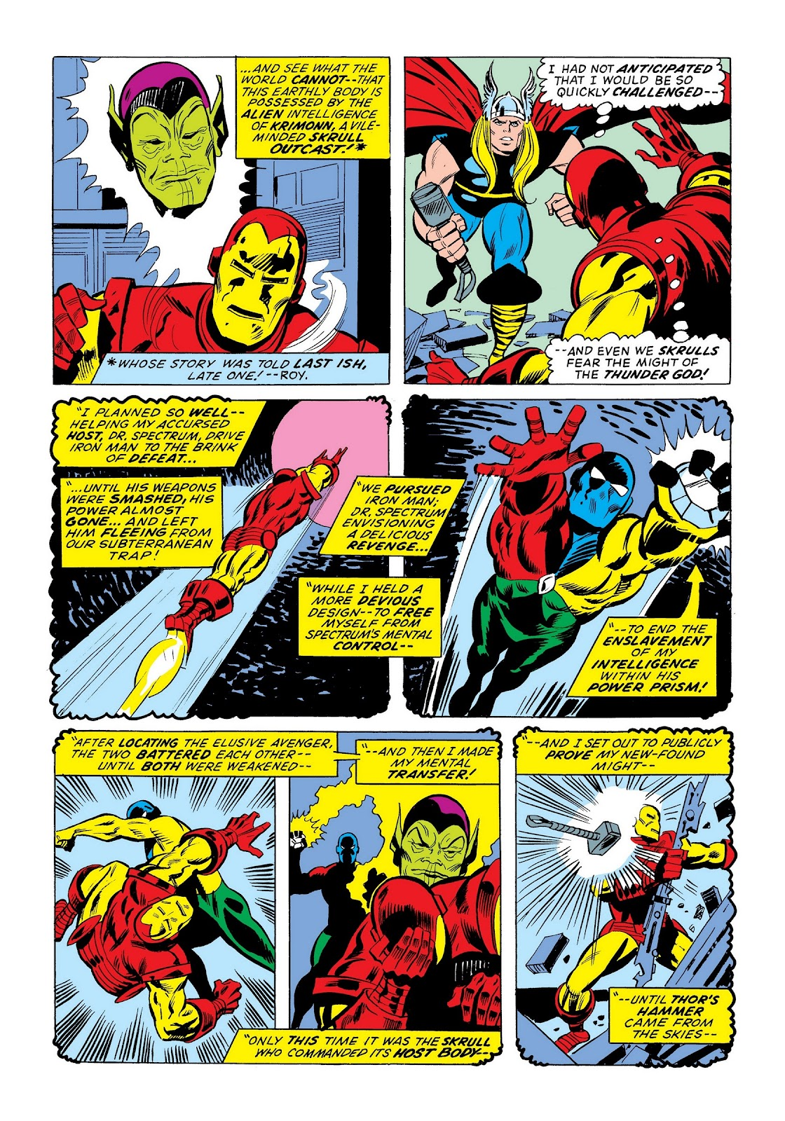 Read online Marvel Masterworks: The Invincible Iron Man comic -  Issue # TPB 9 (Part 3) - 55