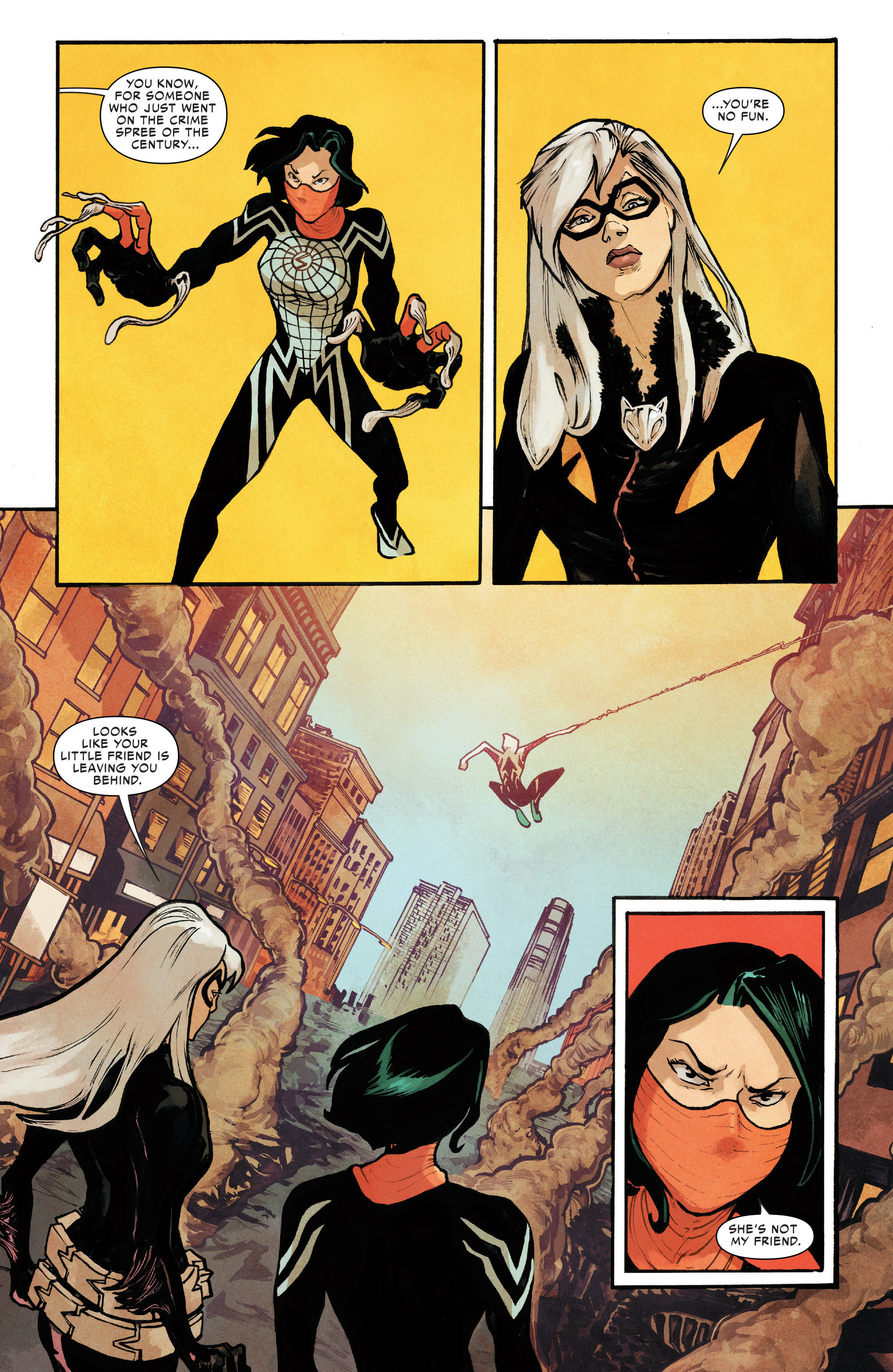 Read online Silk (2016) comic -  Issue #8 - 18