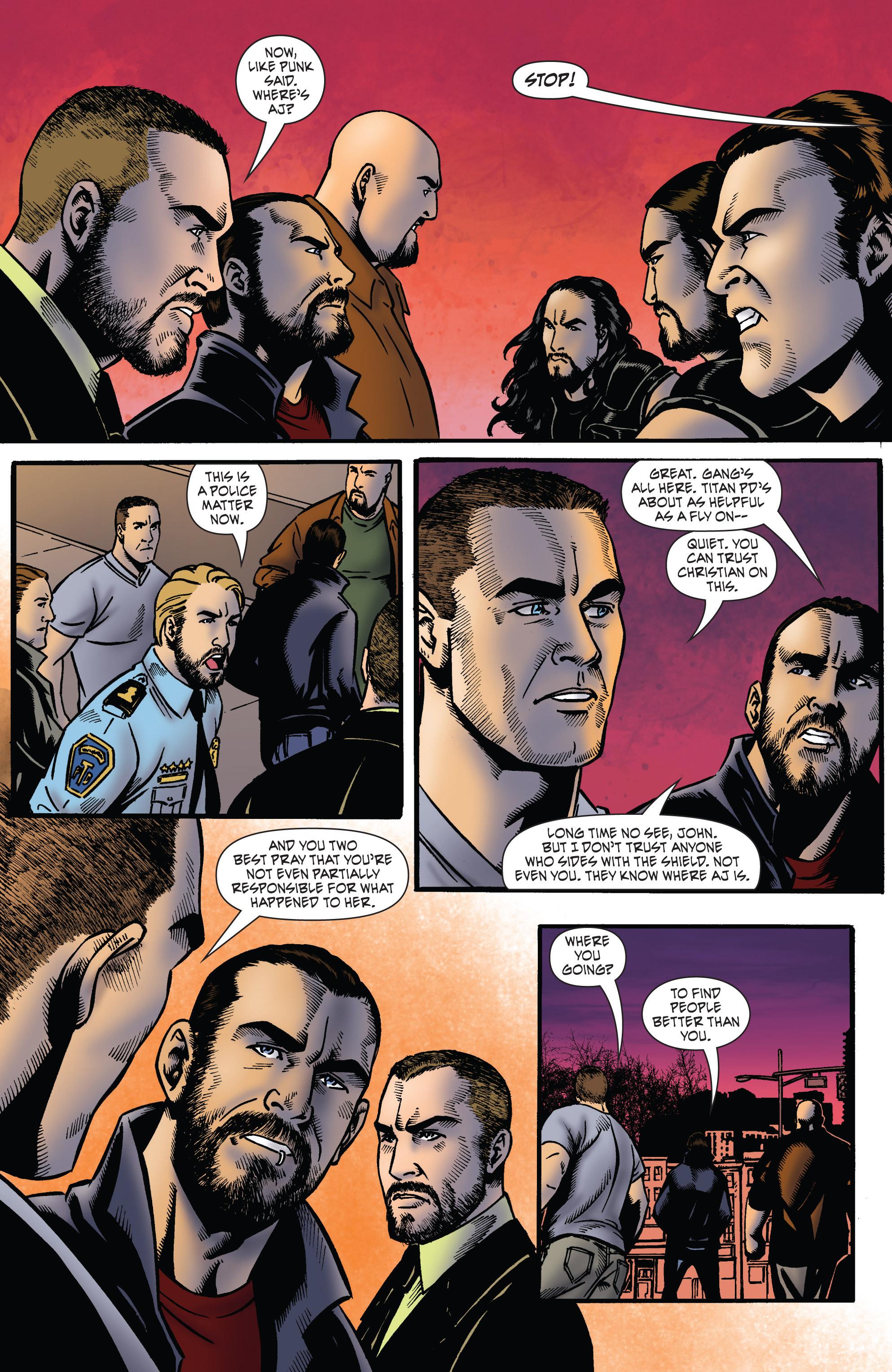 Read online WWE Superstars comic -  Issue #2 - 9