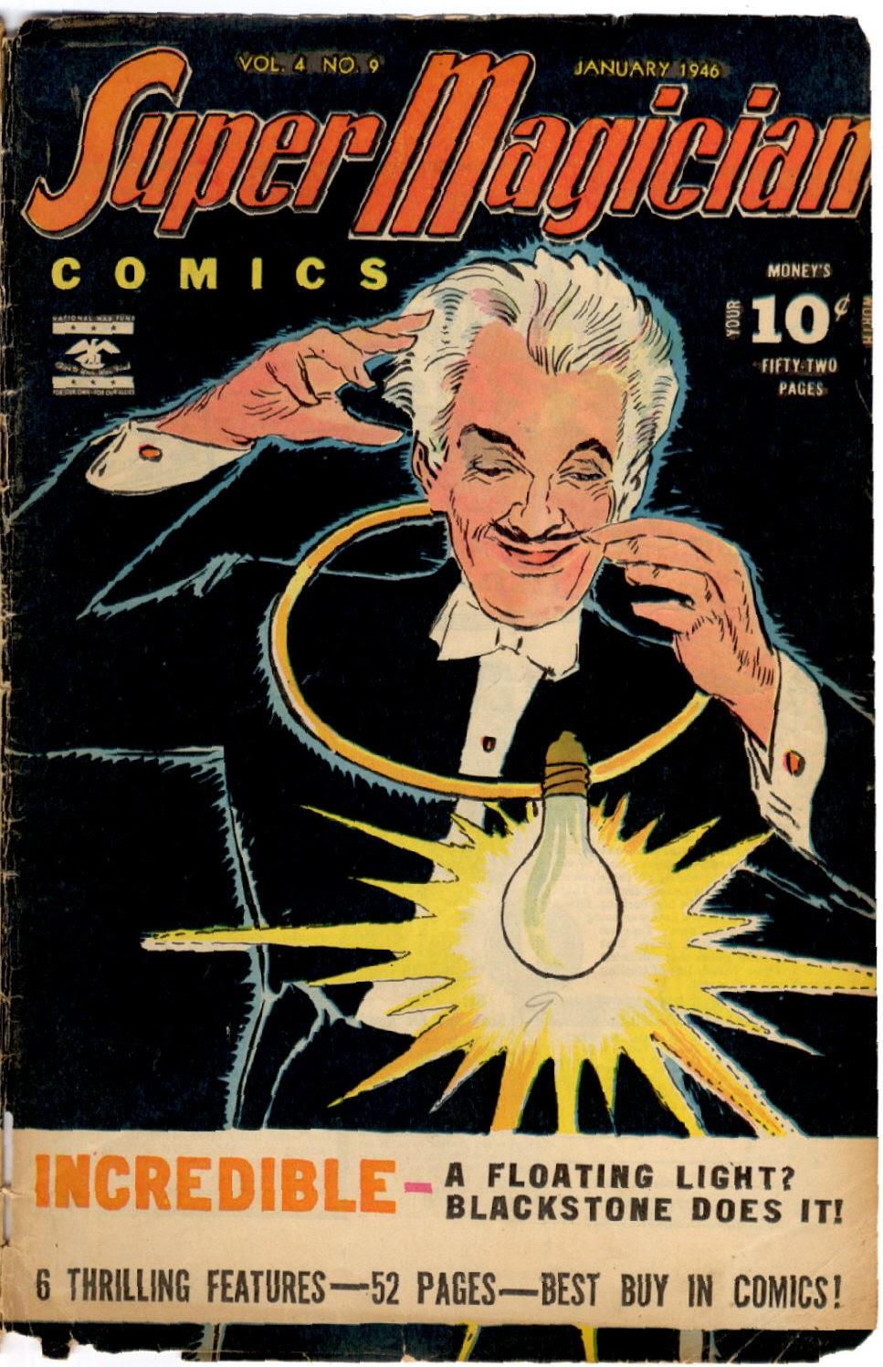 Read online Super-Magician Comics comic -  Issue #45 - 1