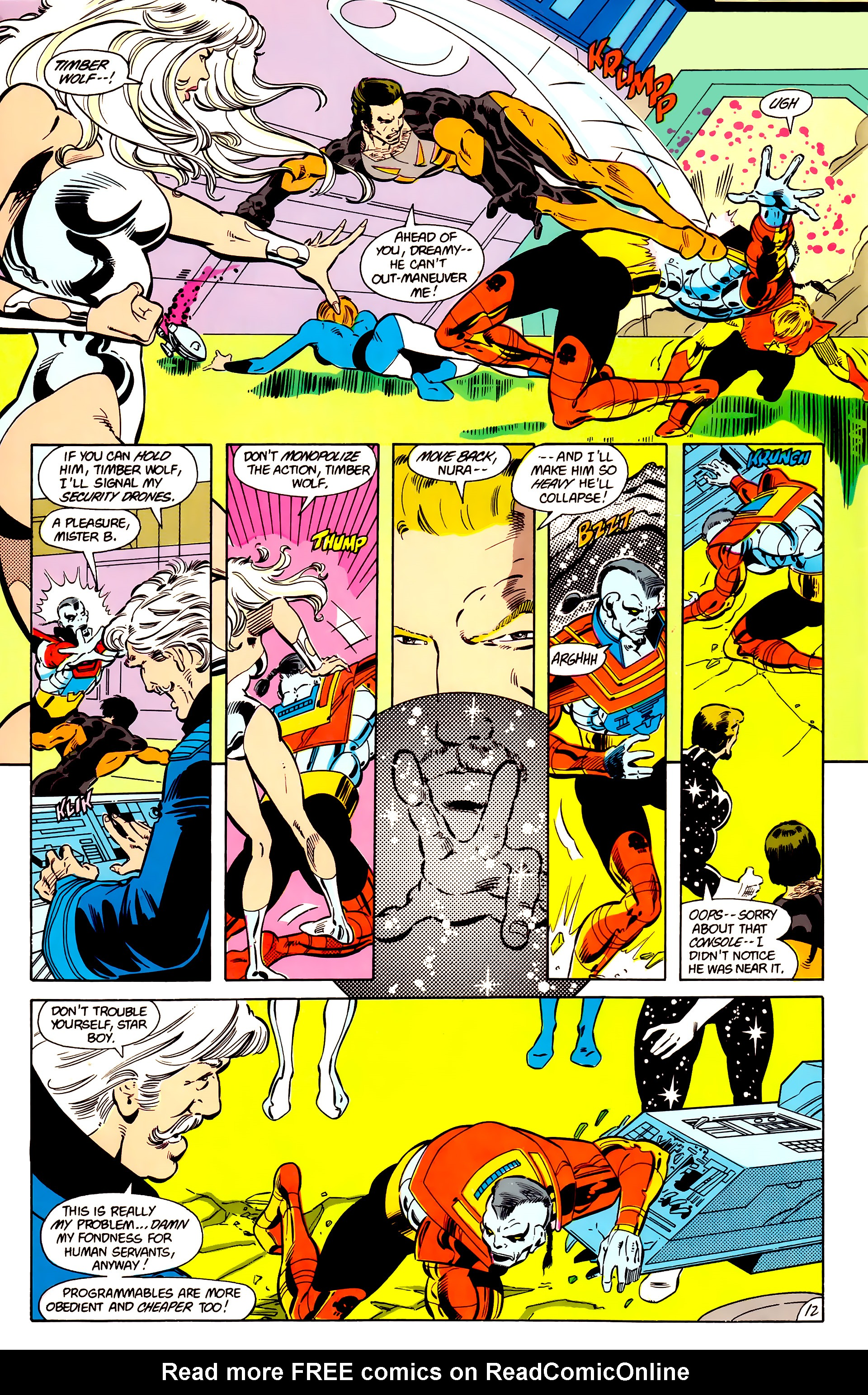 Legion of Super-Heroes (1984) 17 Page 13