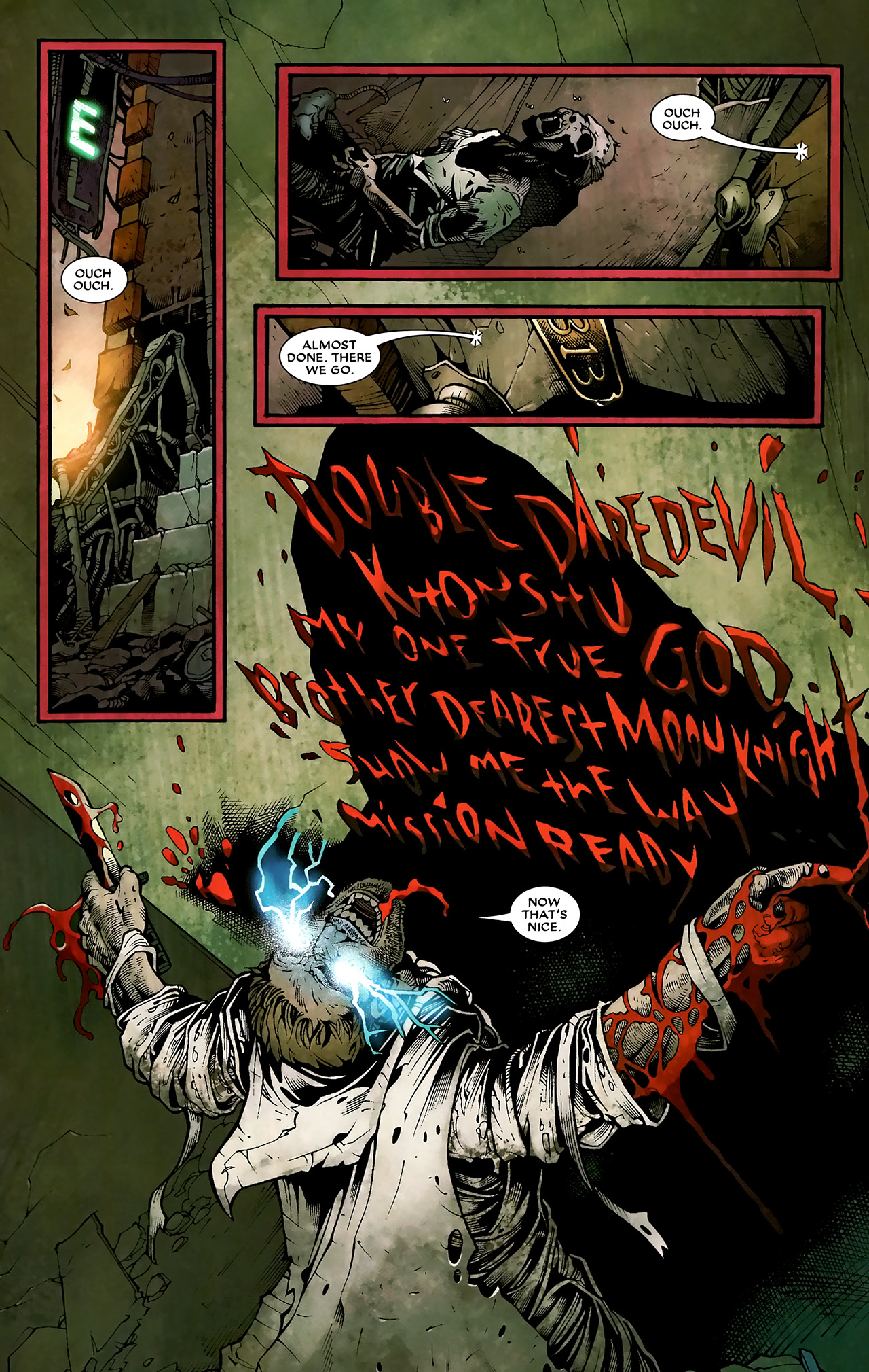 Read online Shadowland: Moon Knight comic -  Issue #3 - 7