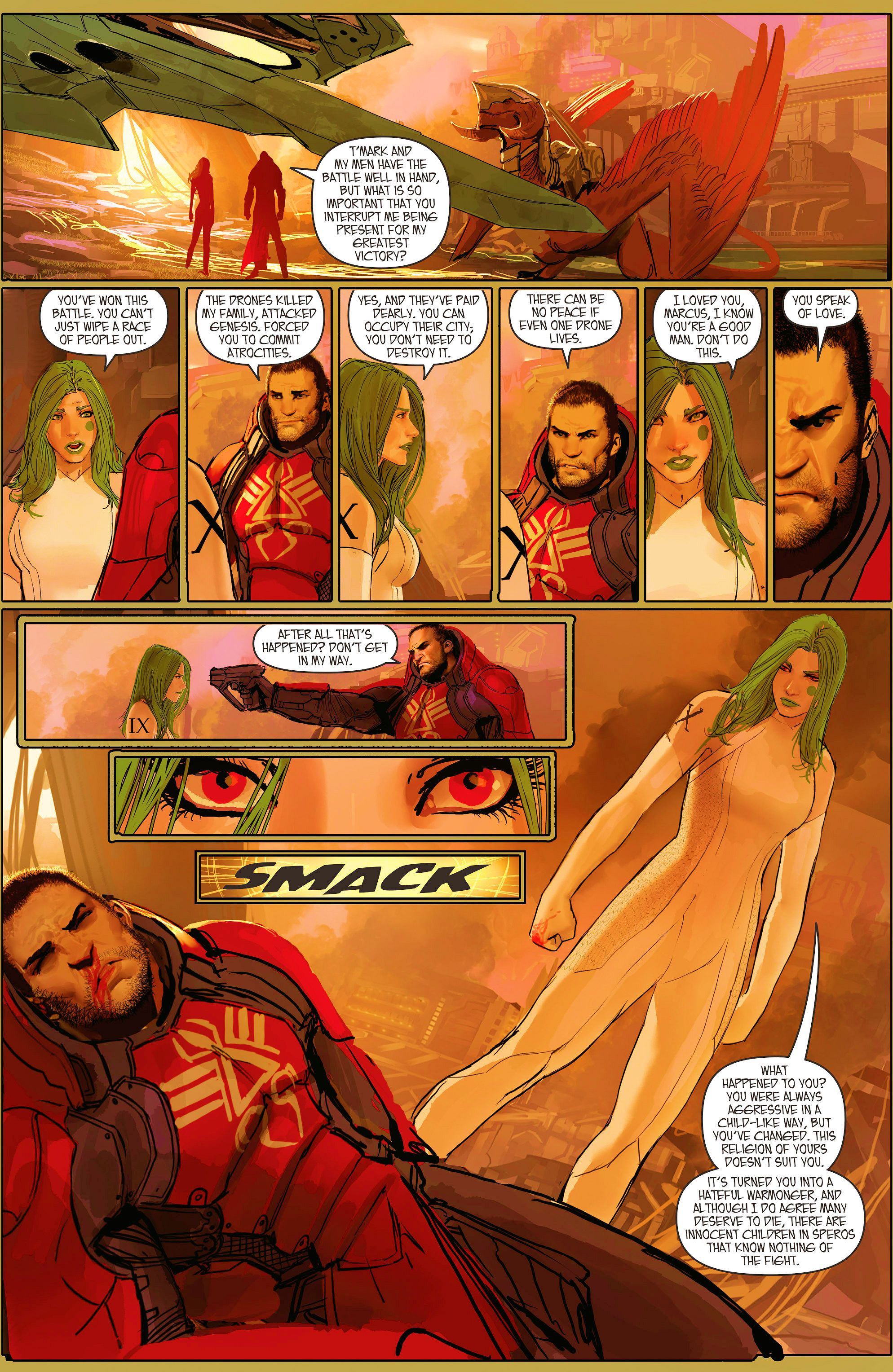 Read online Aphrodite IX (2013) comic -  Issue #11 - 17
