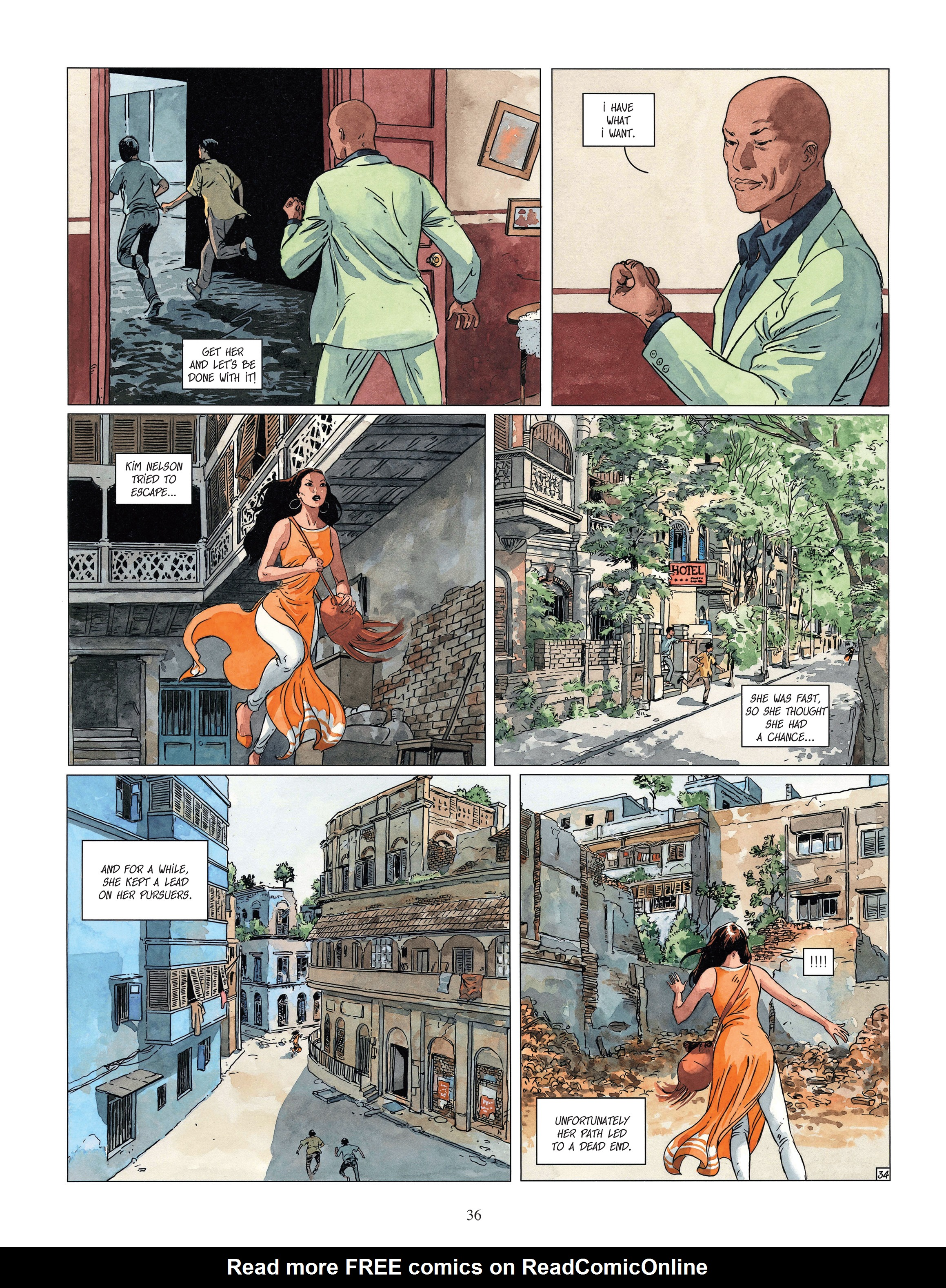 Read online Djinn comic -  Issue #13 - 37