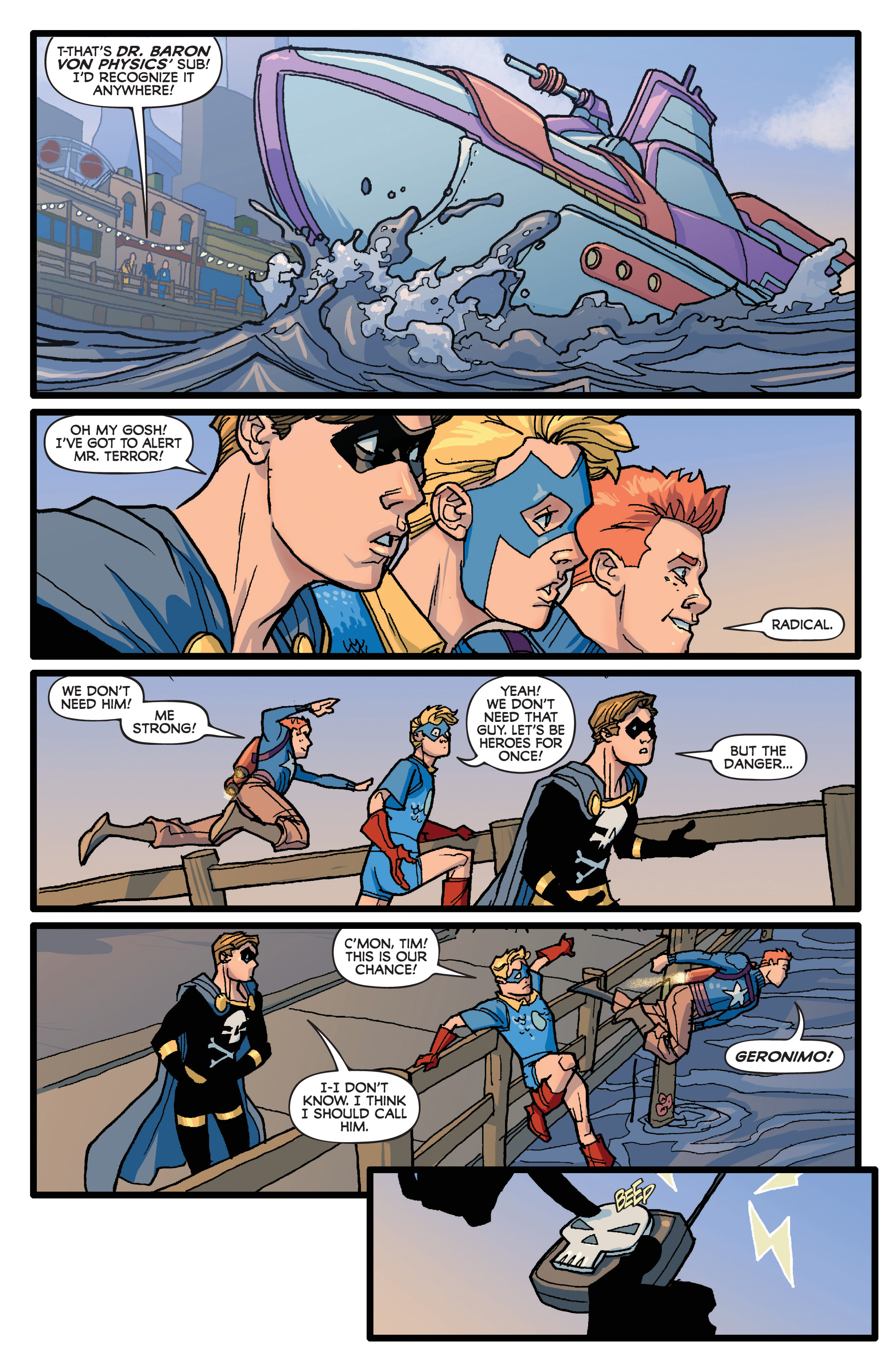 Read online Project Superpowers: Hero Killers comic -  Issue #1 - 17
