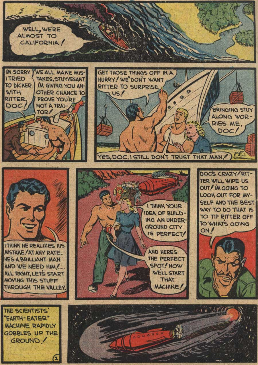 Blue Ribbon Comics (1939) issue 7 - Page 50