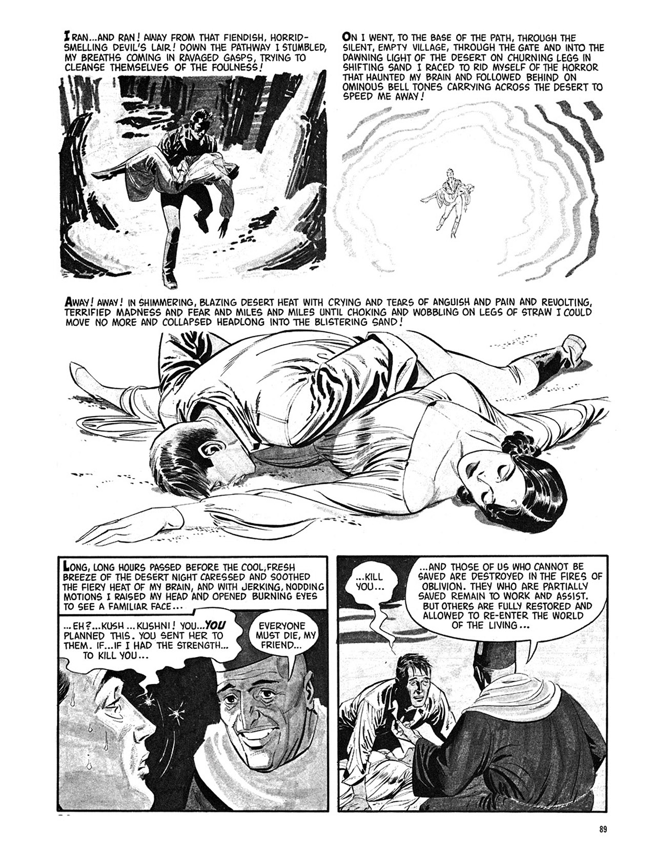Read online Eerie Archives comic -  Issue # TPB 3 - 90