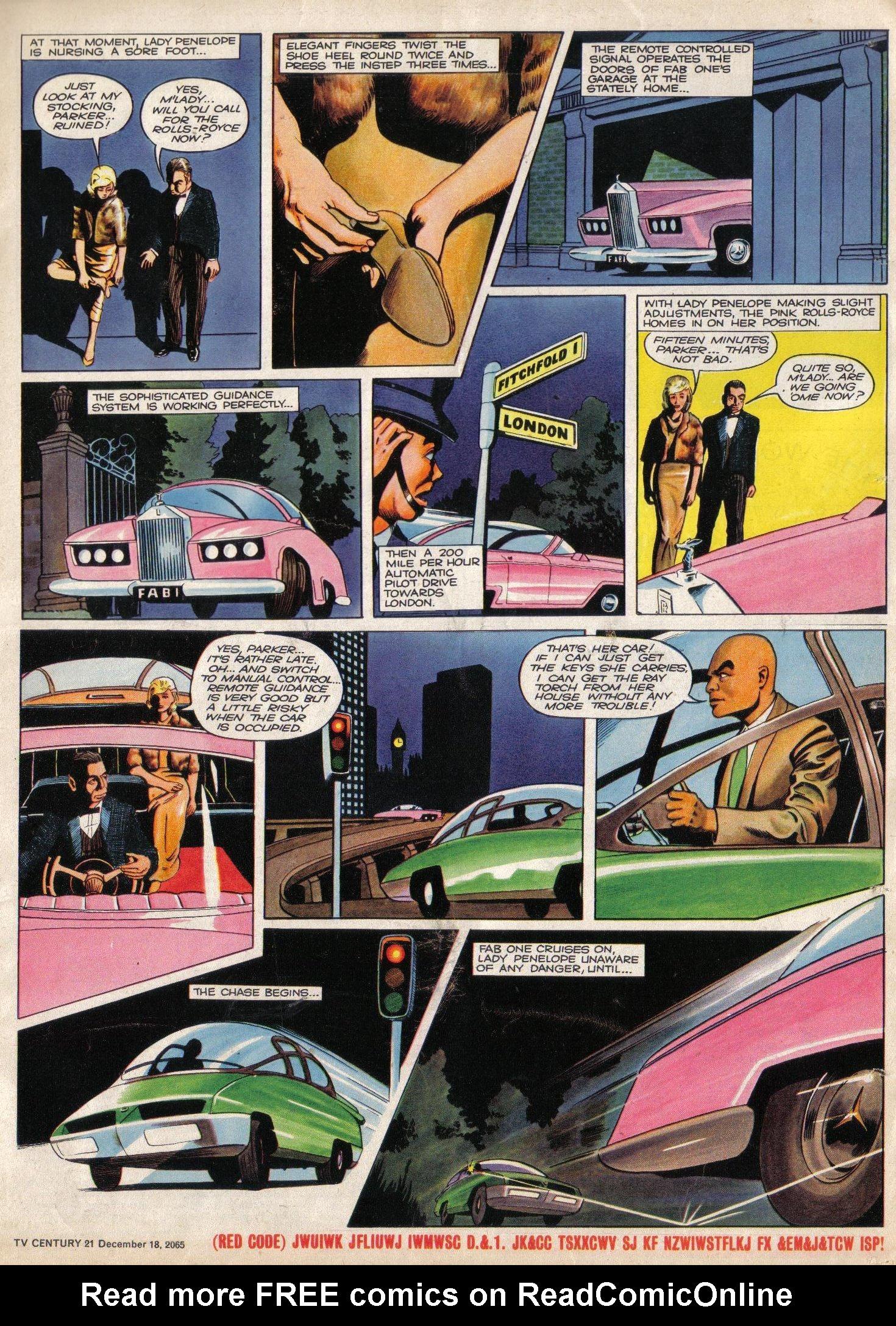 Read online TV Century 21 (TV 21) comic -  Issue #48 - 16