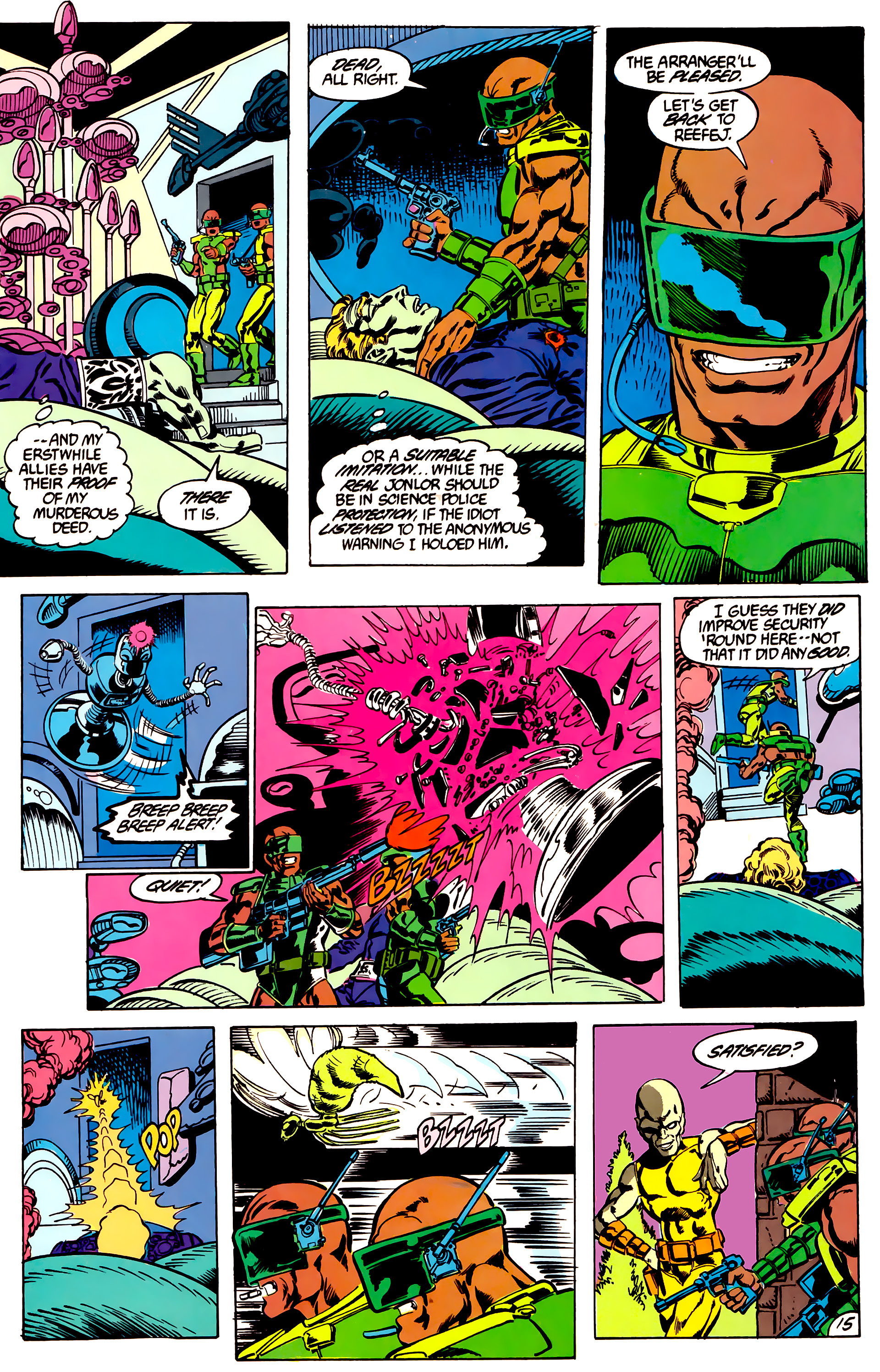 Legion of Super-Heroes (1984) 47 Page 15