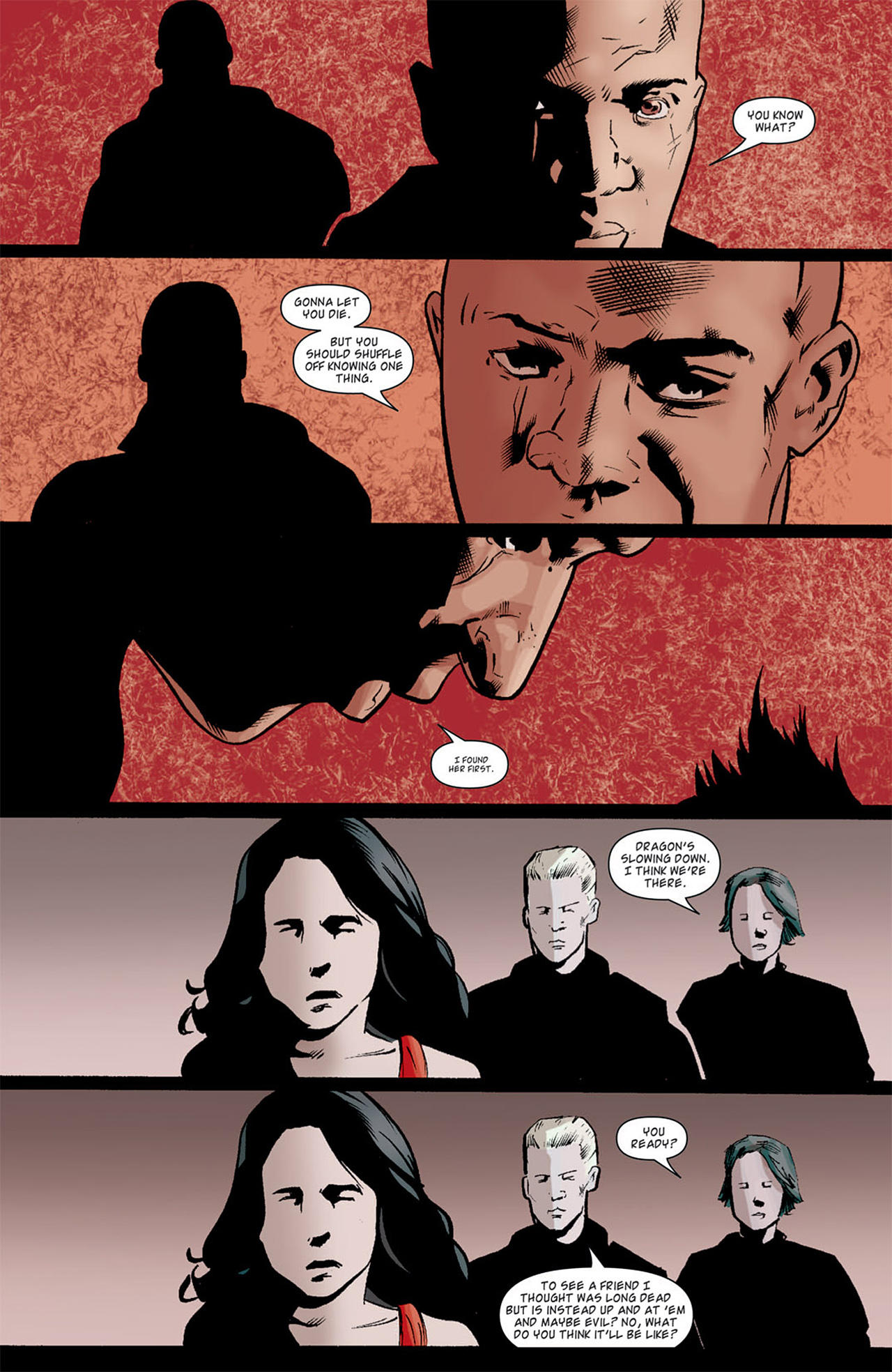 Read online Angel: After The Fall comic -  Issue #11 - 24