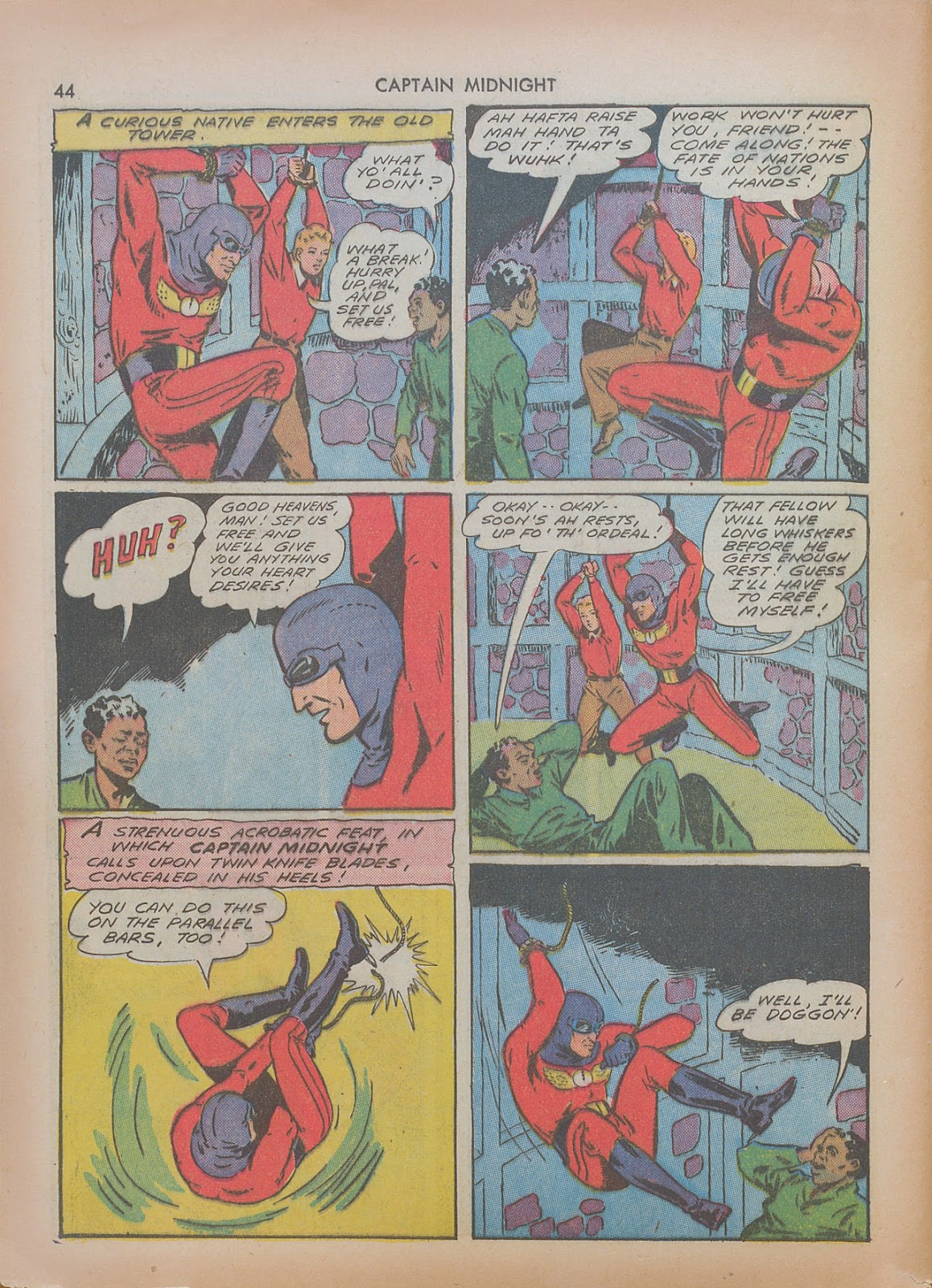 Captain Midnight (1942) issue 7 - Page 44