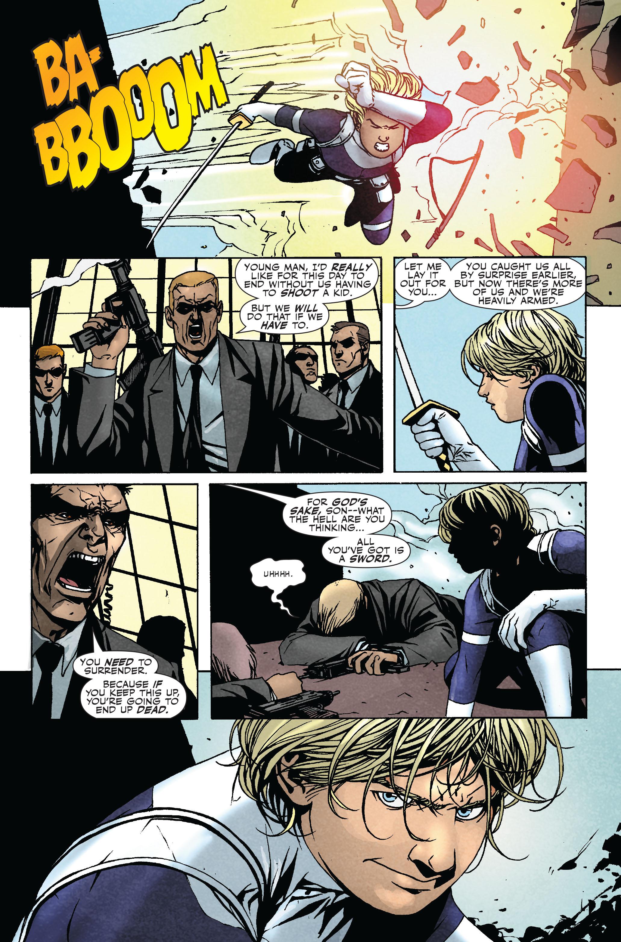 Read online Siege: Secret Warriors comic -  Issue # Full - 20