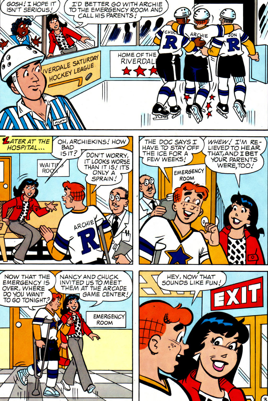 Read online Archie (1960) comic -  Issue #562 - 10