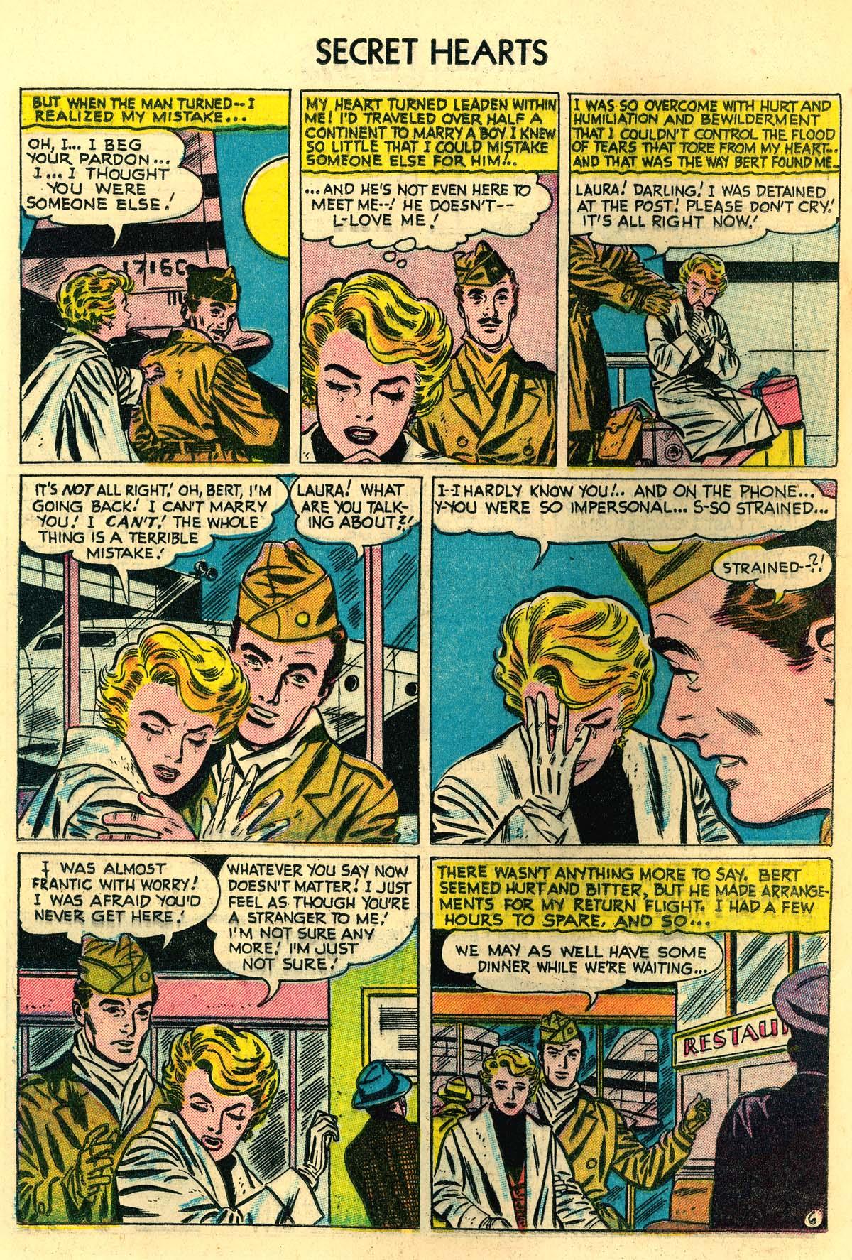 Read online Secret Hearts comic -  Issue #30 - 24