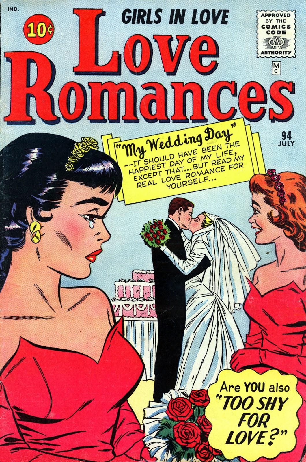 Love Romances (1949) issue 94 - Page 1