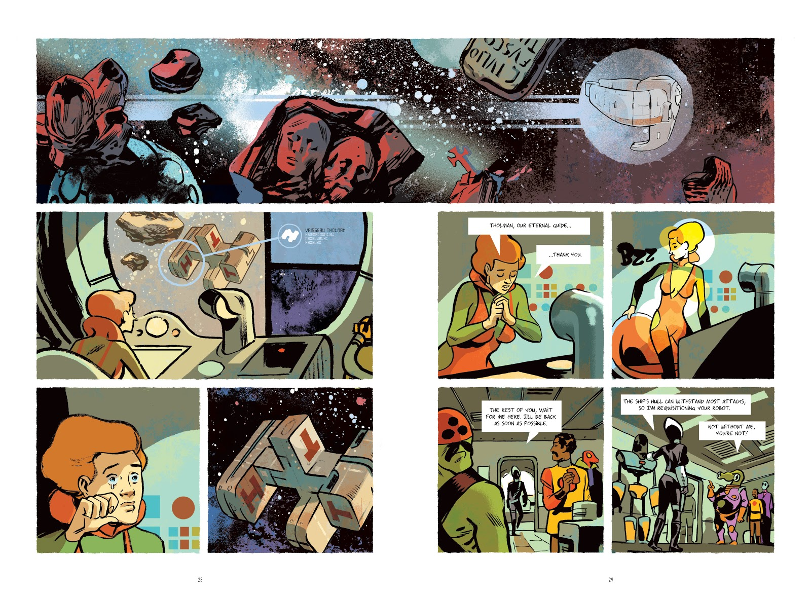 Read online Infinity 8 comic -  Issue # _TPB 3 - 29