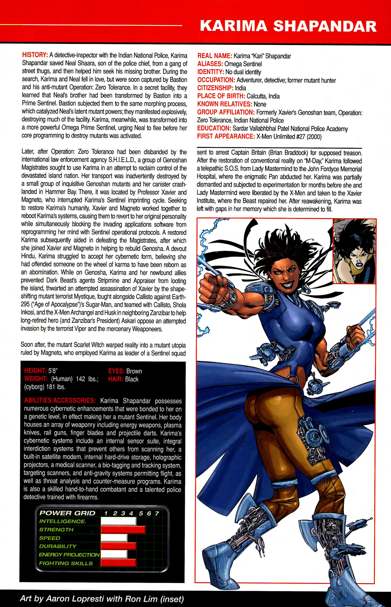 Read online All-New Official Handbook of the Marvel Universe A to Z comic -  Issue #10 - 5