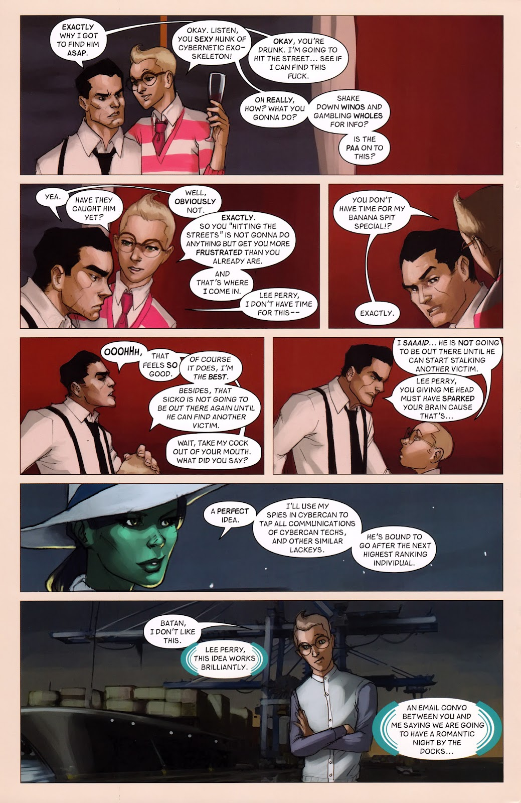 Read online Vescell comic -  Issue #6 - 20