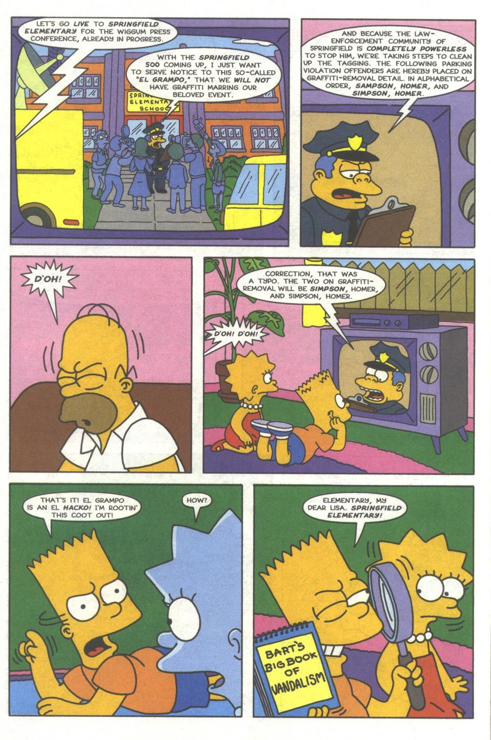Read online Simpsons Comics comic -  Issue #37 - 11