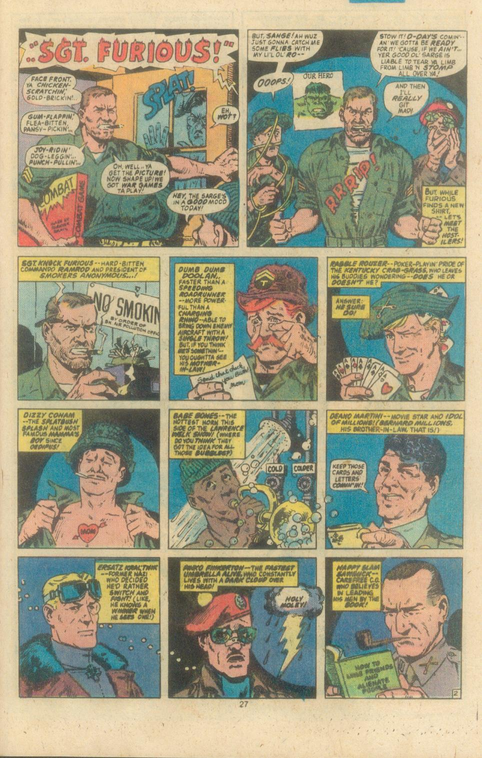 Read online Sgt. Fury comic -  Issue #162 - 29